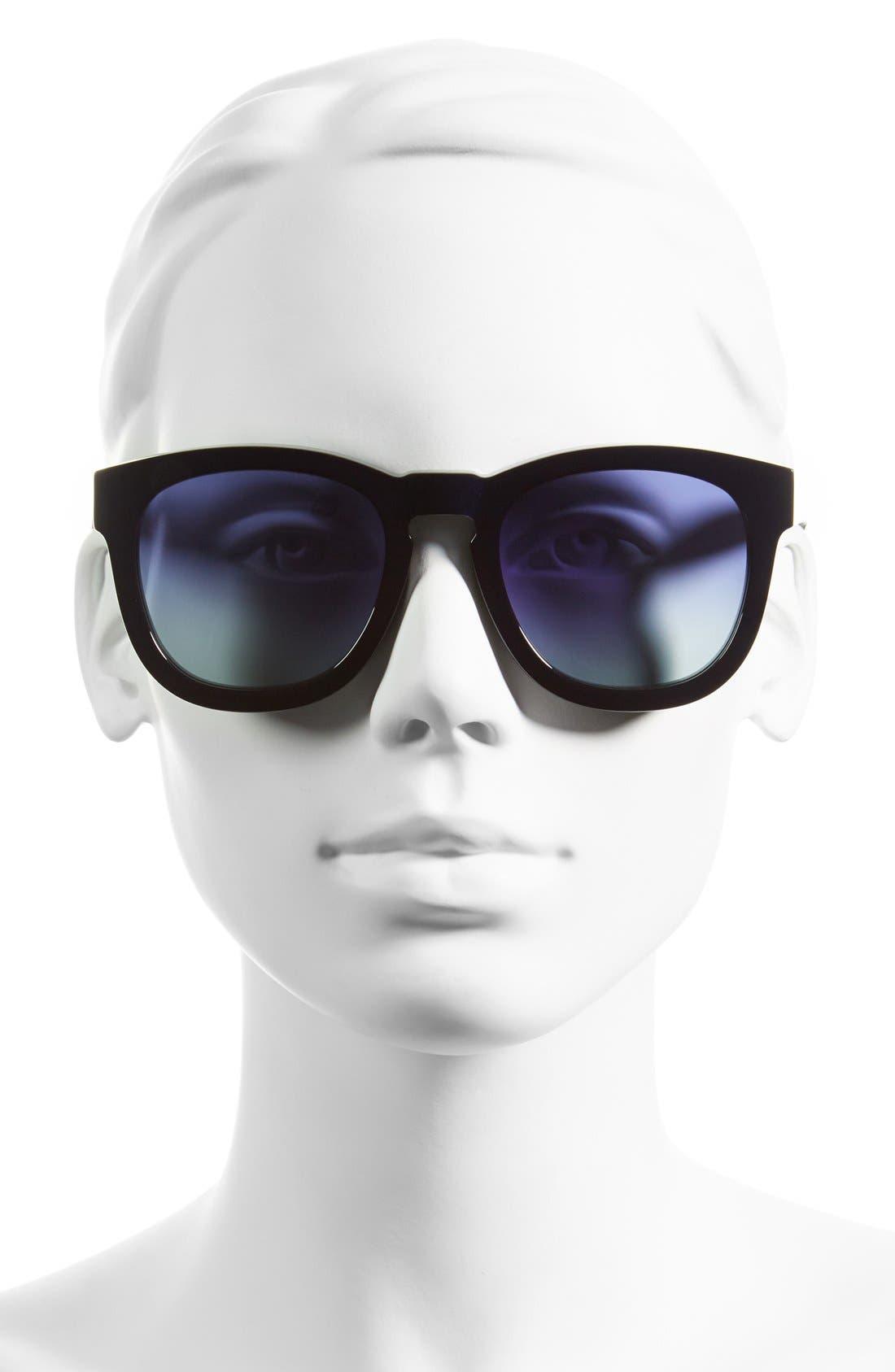 'Classic Fox' 50mm Retro Sunglasses,                             Alternate thumbnail 25, color,