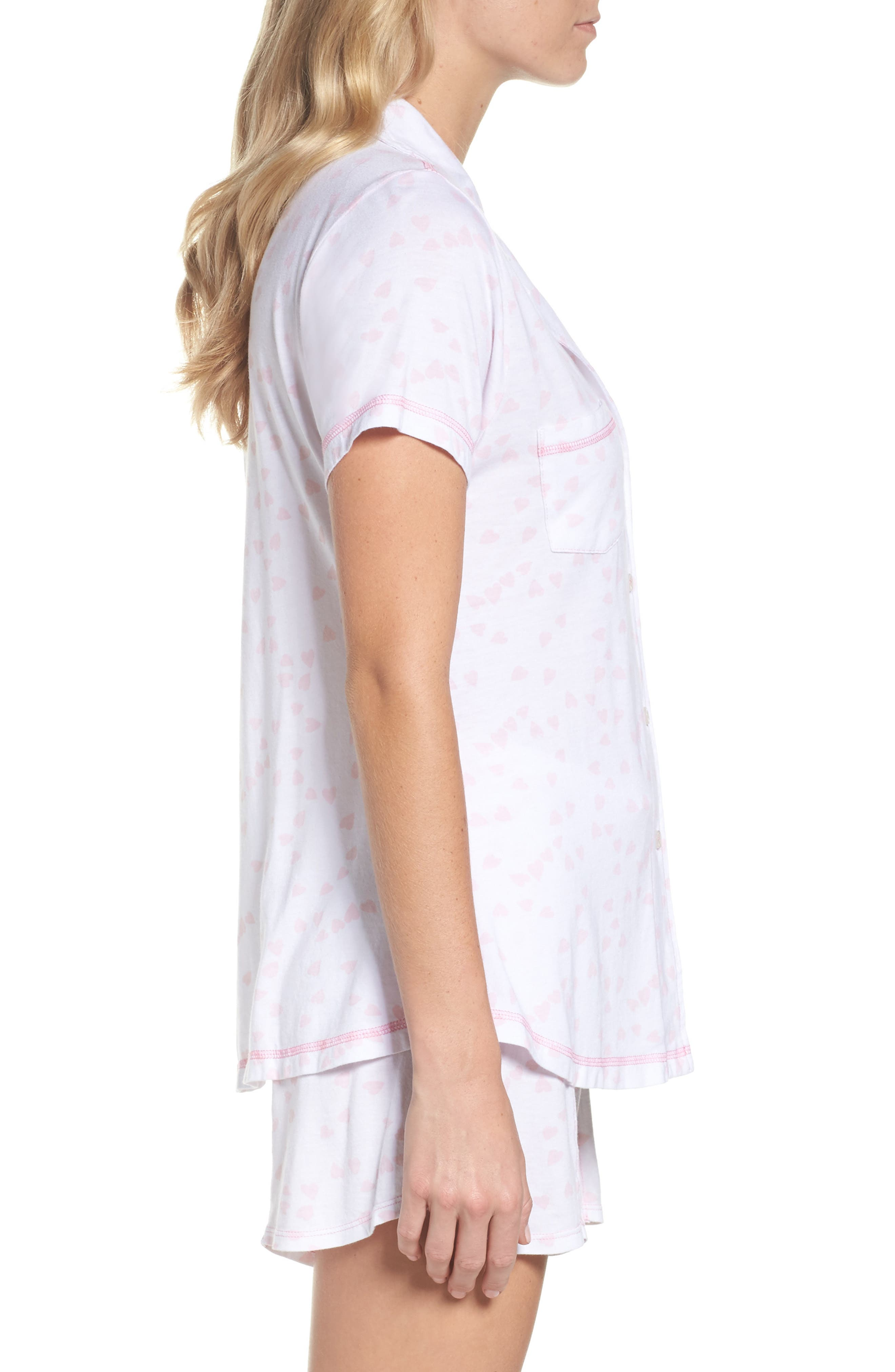 Donna - Luvey Dovey Short Pajamas,                             Alternate thumbnail 3, color,                             650