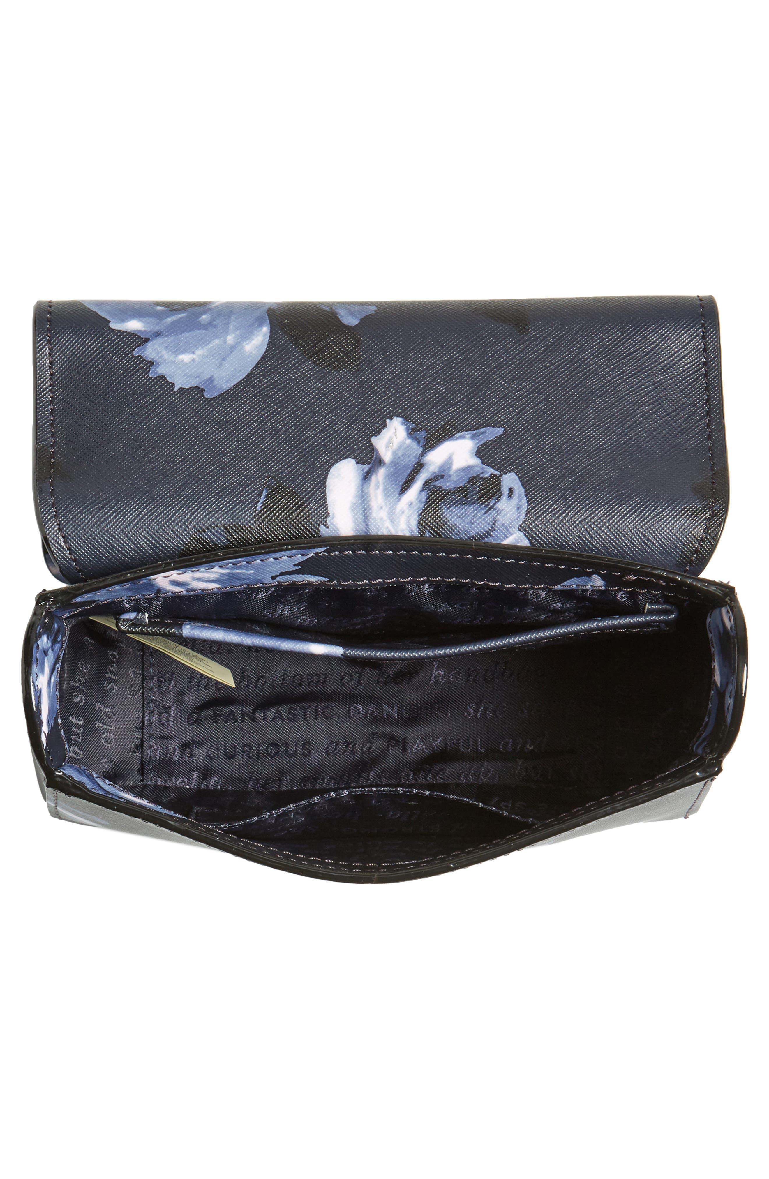 cameron street rose - hope leather crossbody bag,                             Alternate thumbnail 4, color,                             458