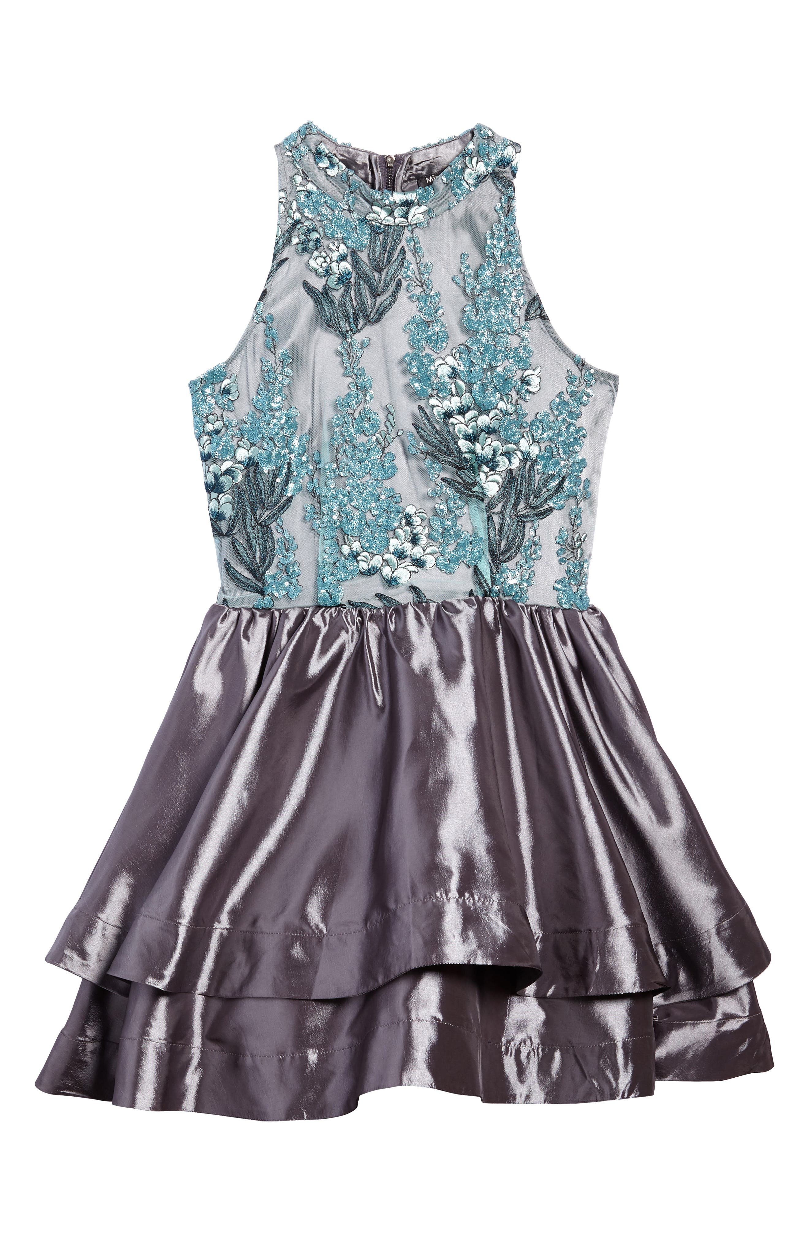 Ruby Sequin Sleeveless Dress,                         Main,                         color,