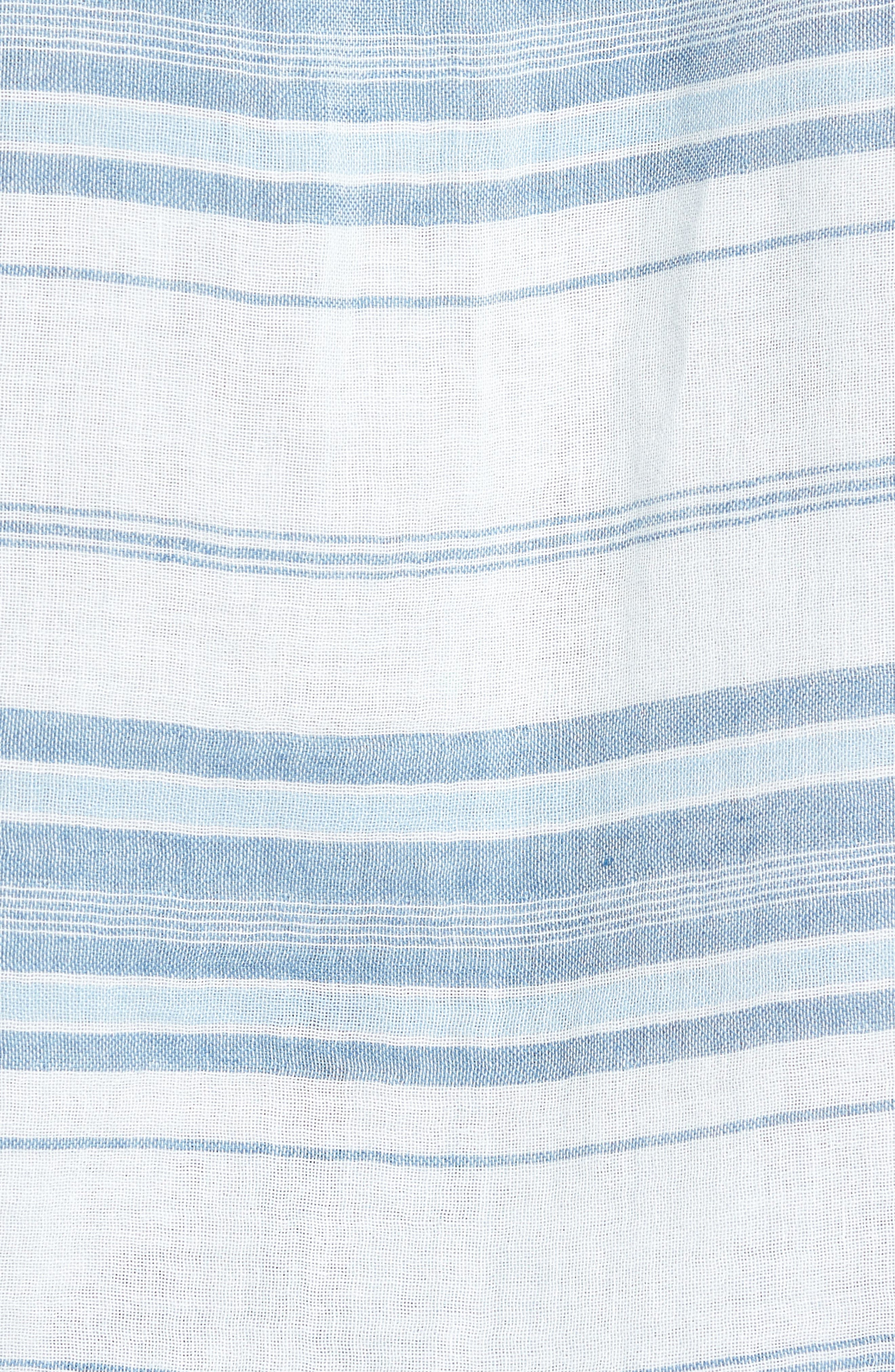 Ventura Double Cloth Short Sleeve Shirt,                             Alternate thumbnail 5, color,                             405