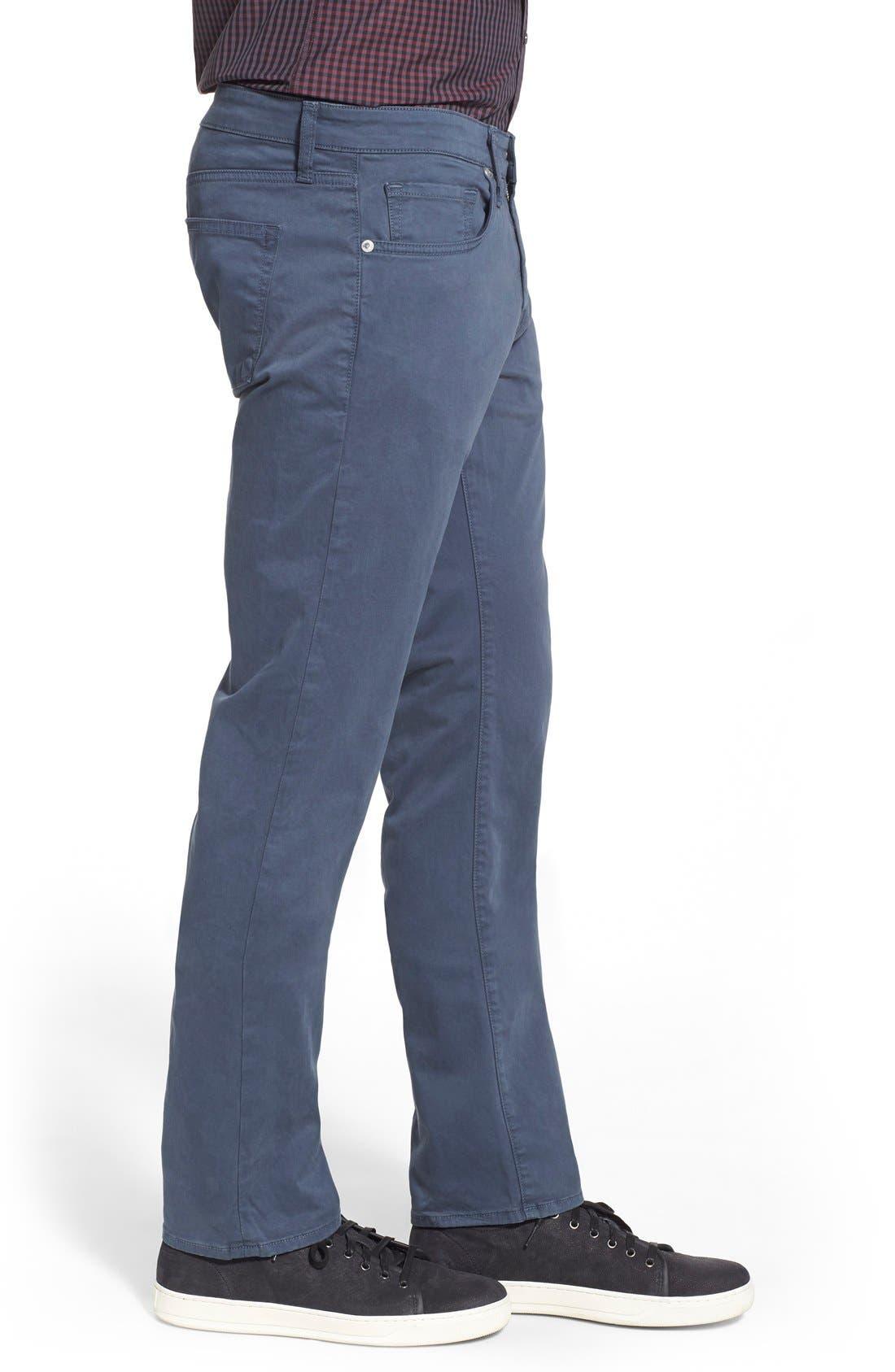 'Kane' Slim Fit Cotton Twill Pants,                             Alternate thumbnail 78, color,