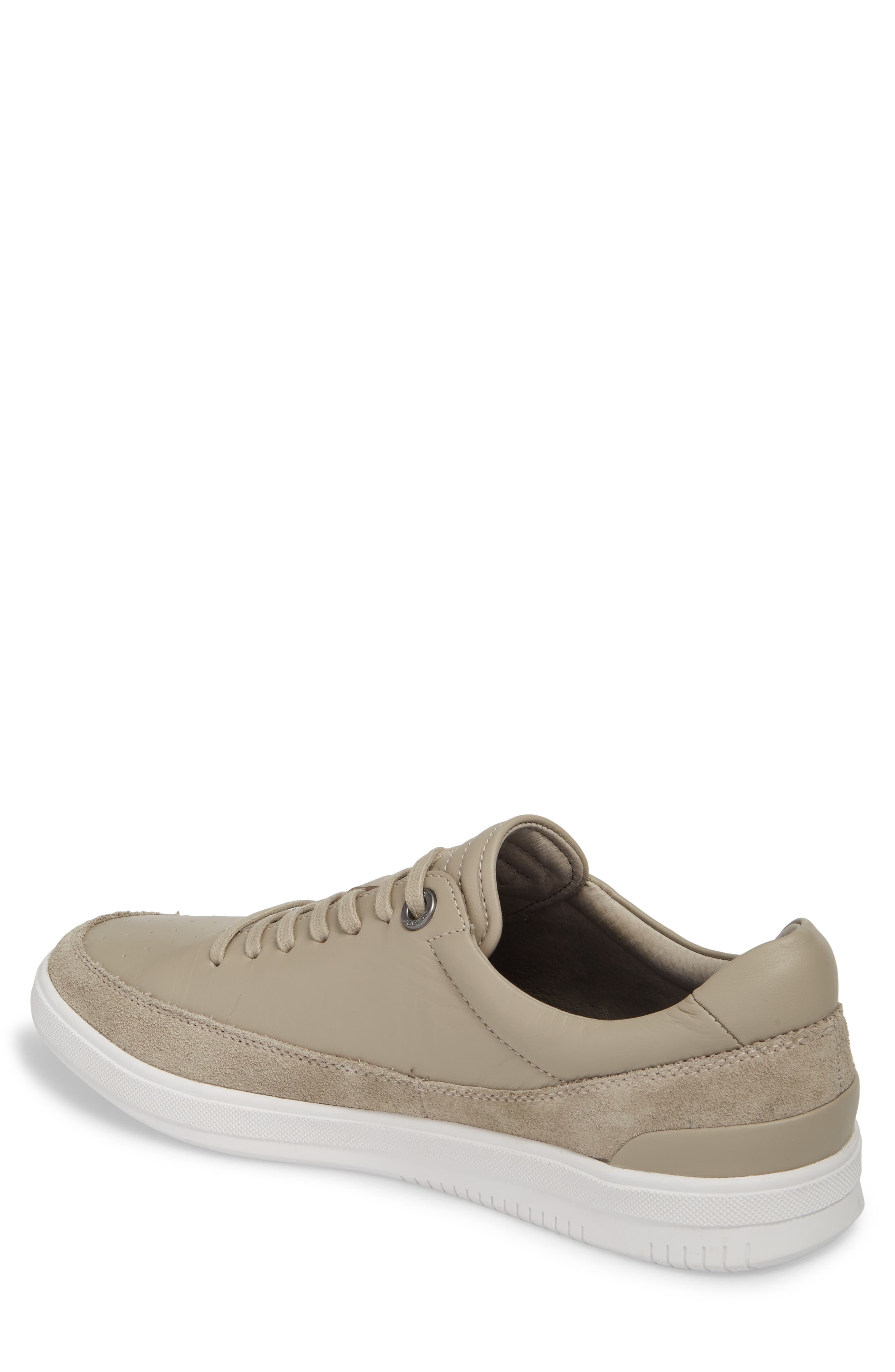 Joe Classic Low Top Sneaker,                             Alternate thumbnail 2, color,                             STONE LEATHER