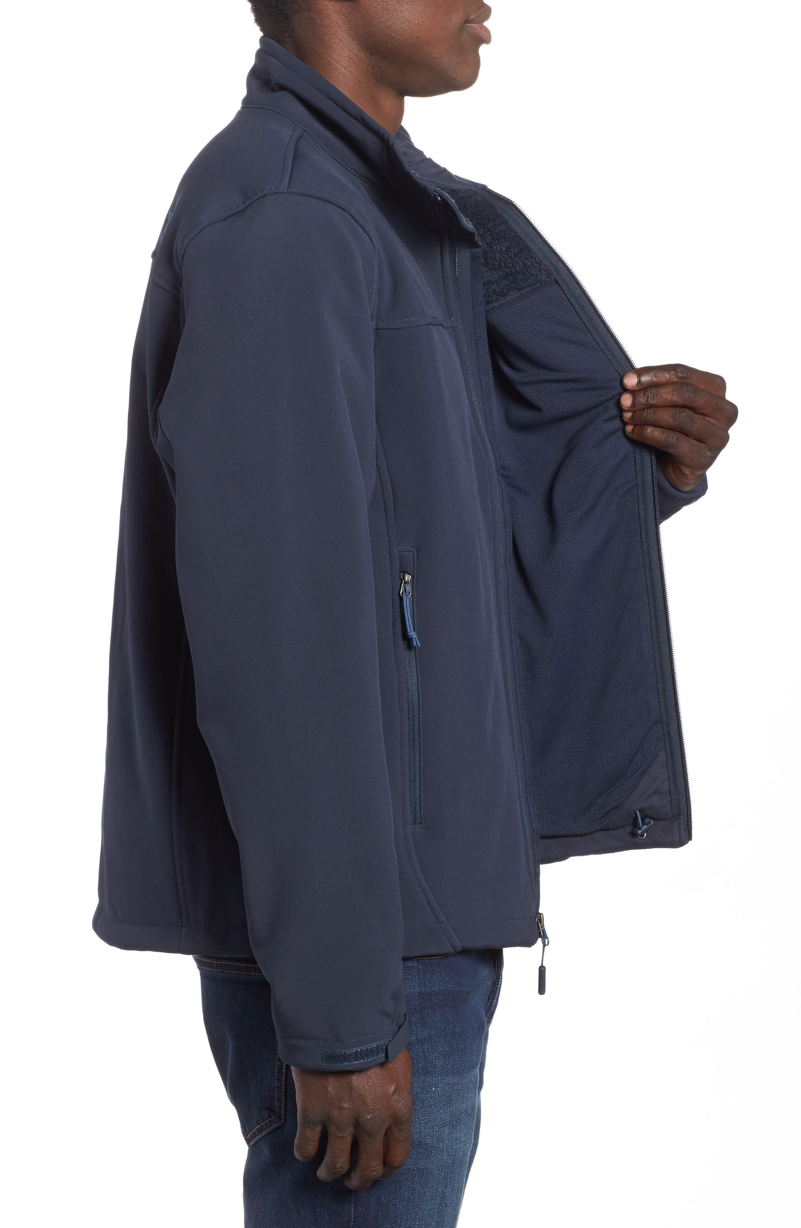 'Apex Chromium' Waterproof Thermal Jacket,                             Alternate thumbnail 3, color,                             401