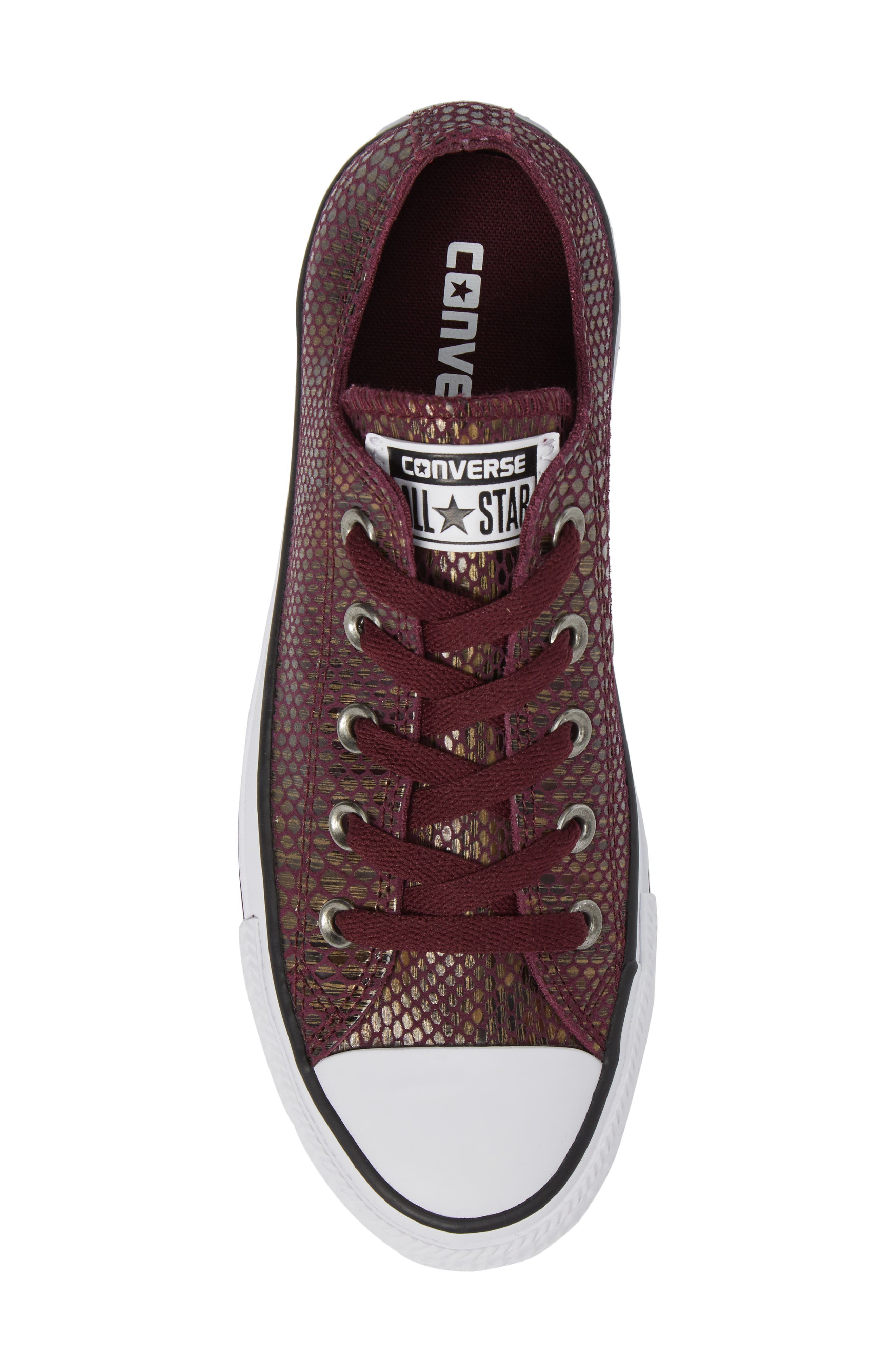 Chuck Taylor<sup>®</sup> All Star<sup>®</sup> Ox Leather Sneaker,                             Alternate thumbnail 10, color,