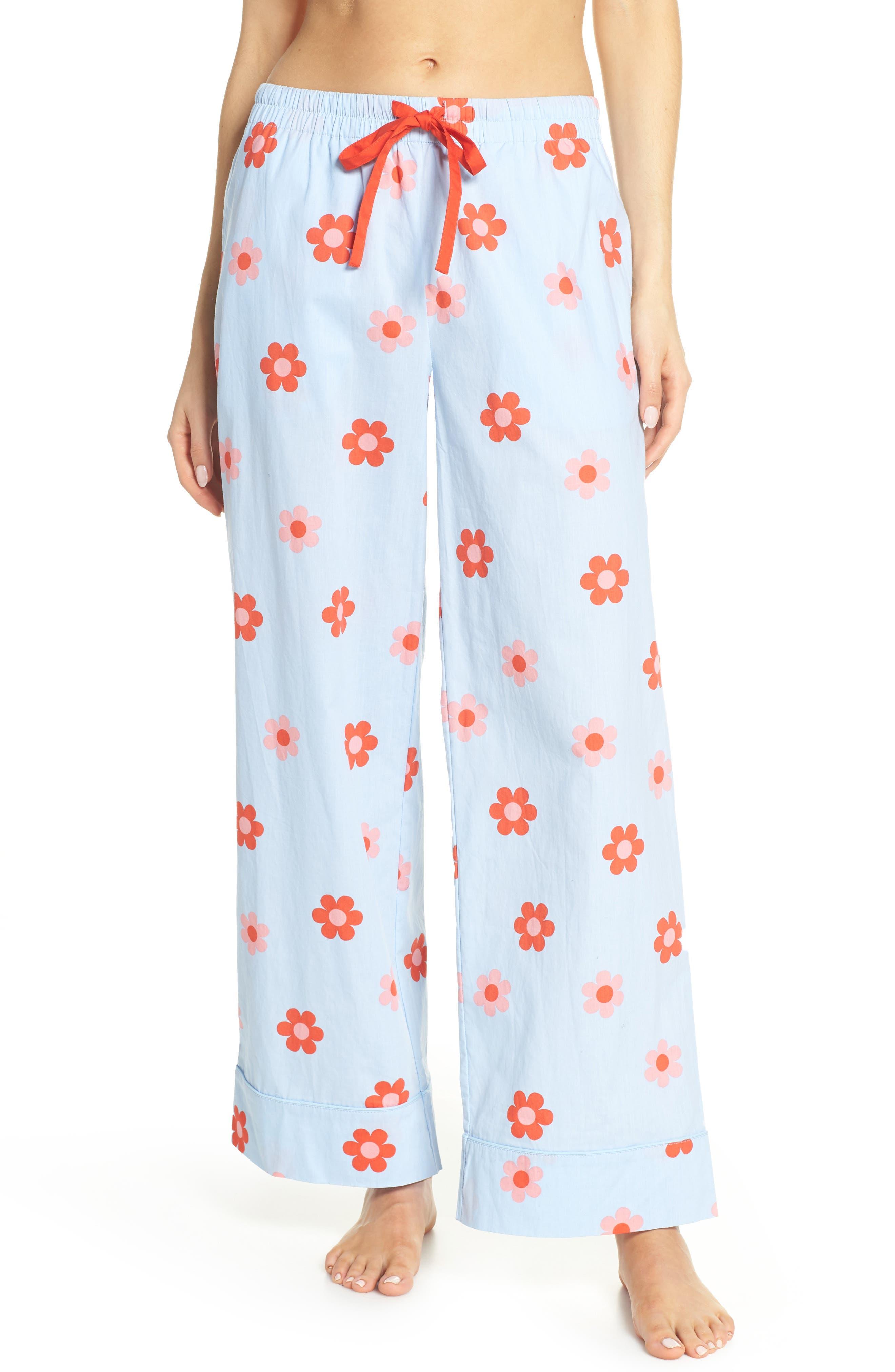 Retro Daisy Sleep Pants by Ban.Do