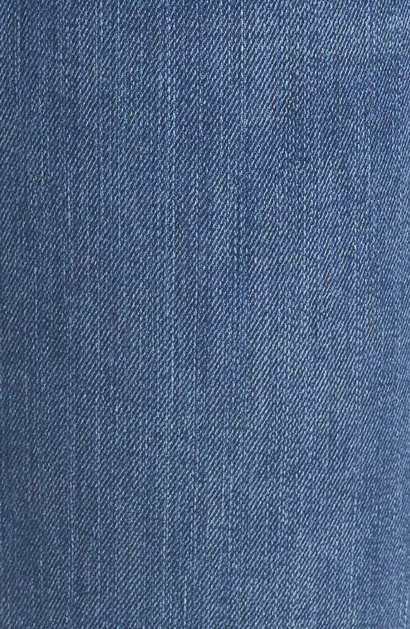 Mera Skinny Ankle Jeans,                             Alternate thumbnail 5, color,                             420