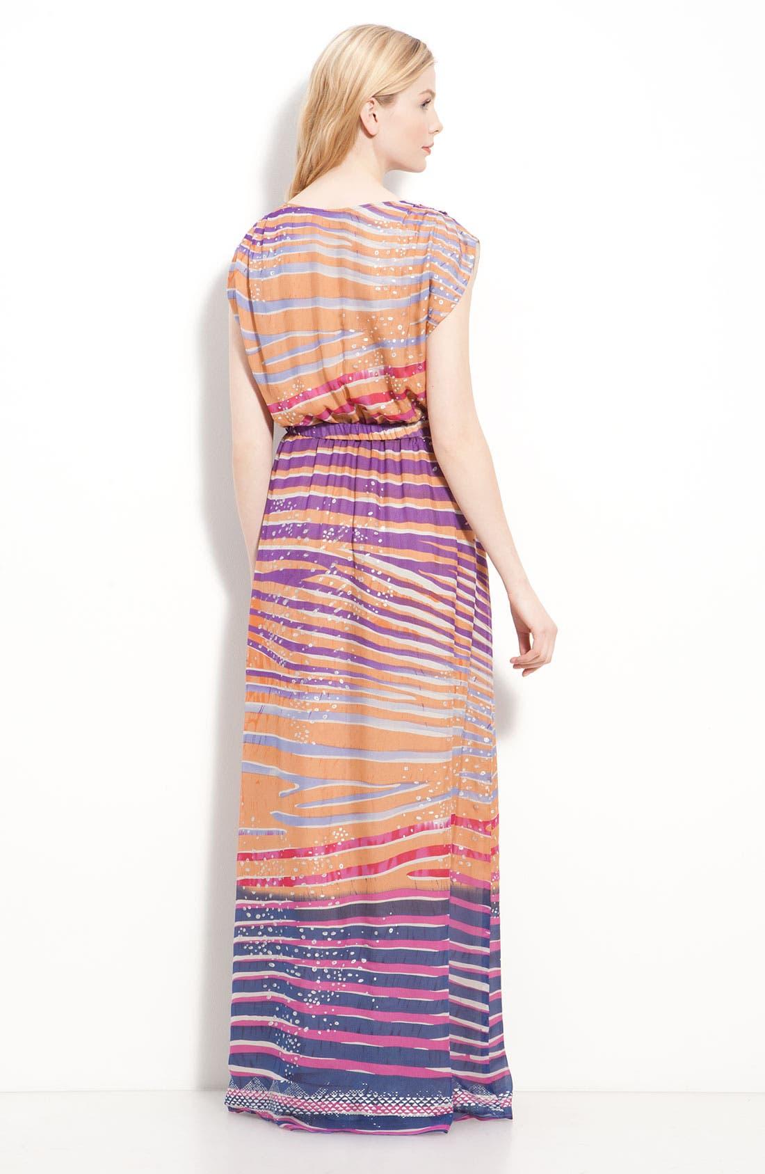'Jaclyn' Silk Chiffon Maxi Dress,                             Alternate thumbnail 2, color,                             650