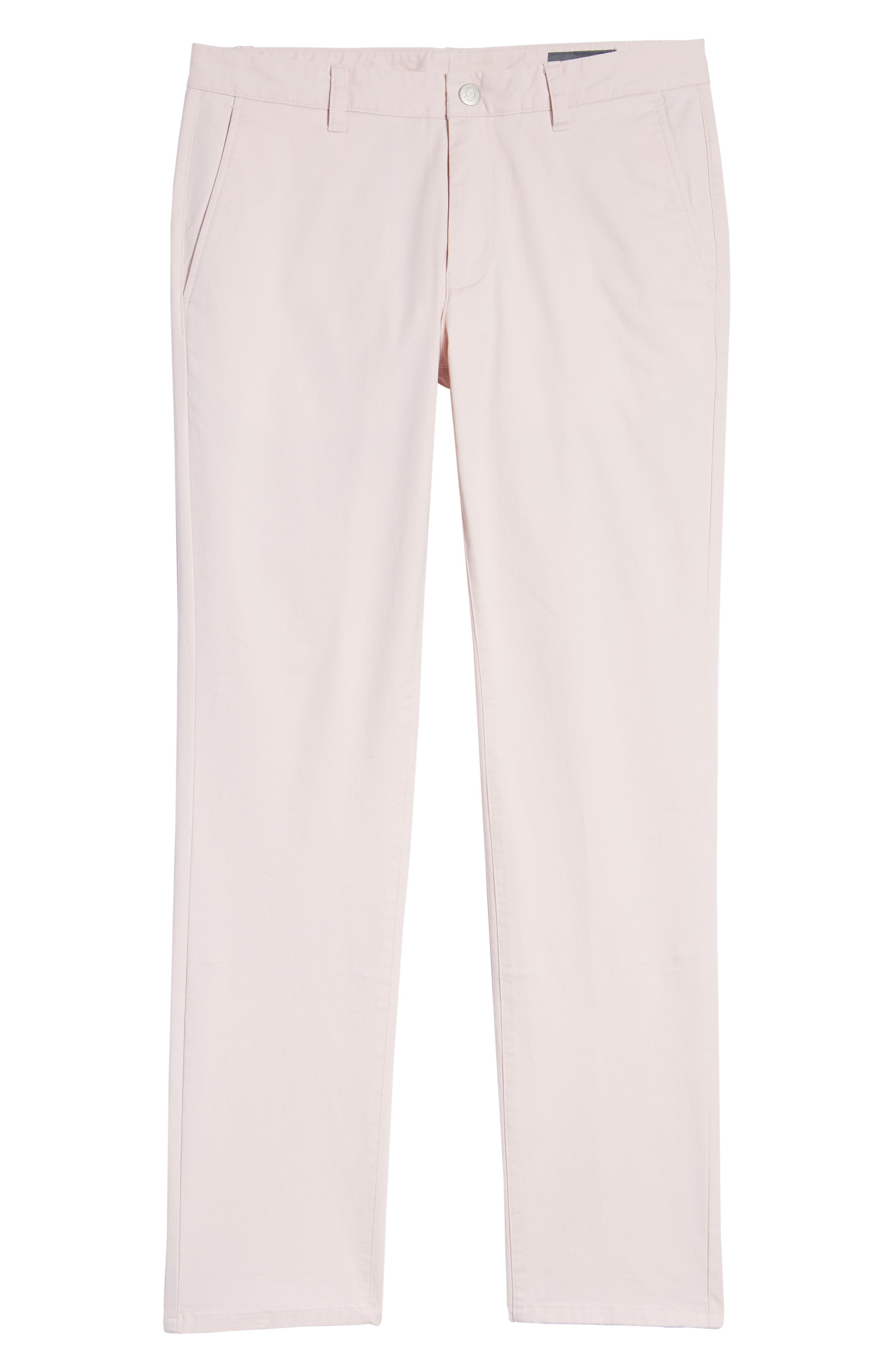 Tailored Fit Washed Stretch Cotton Chinos,                             Alternate thumbnail 190, color,