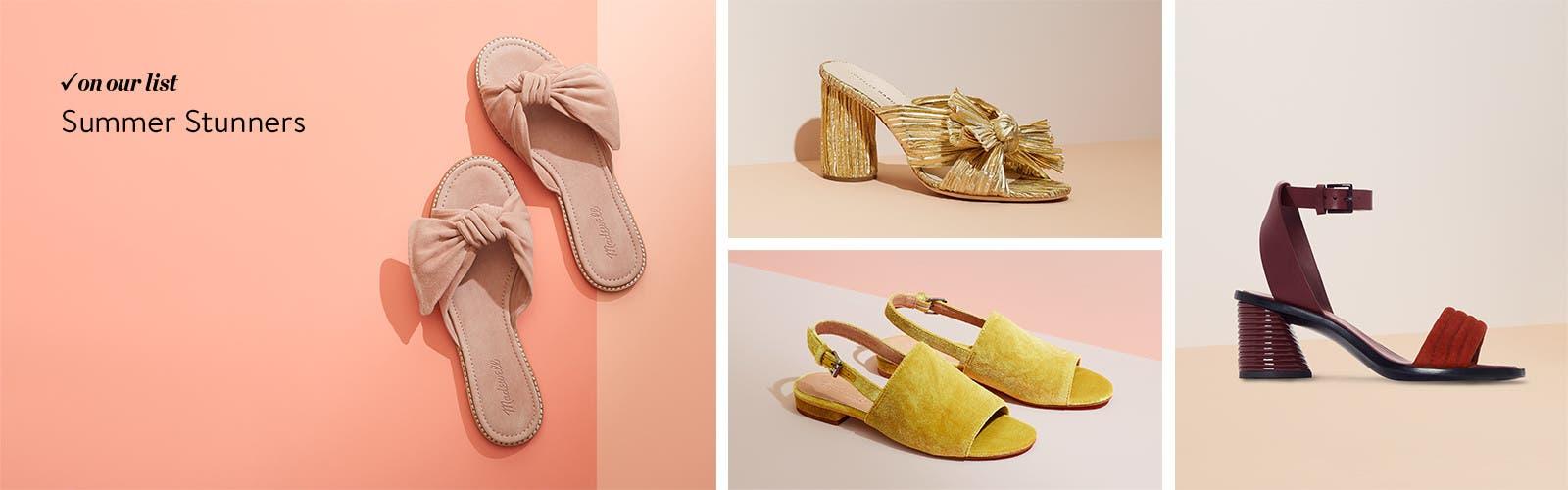 Summer stunners.