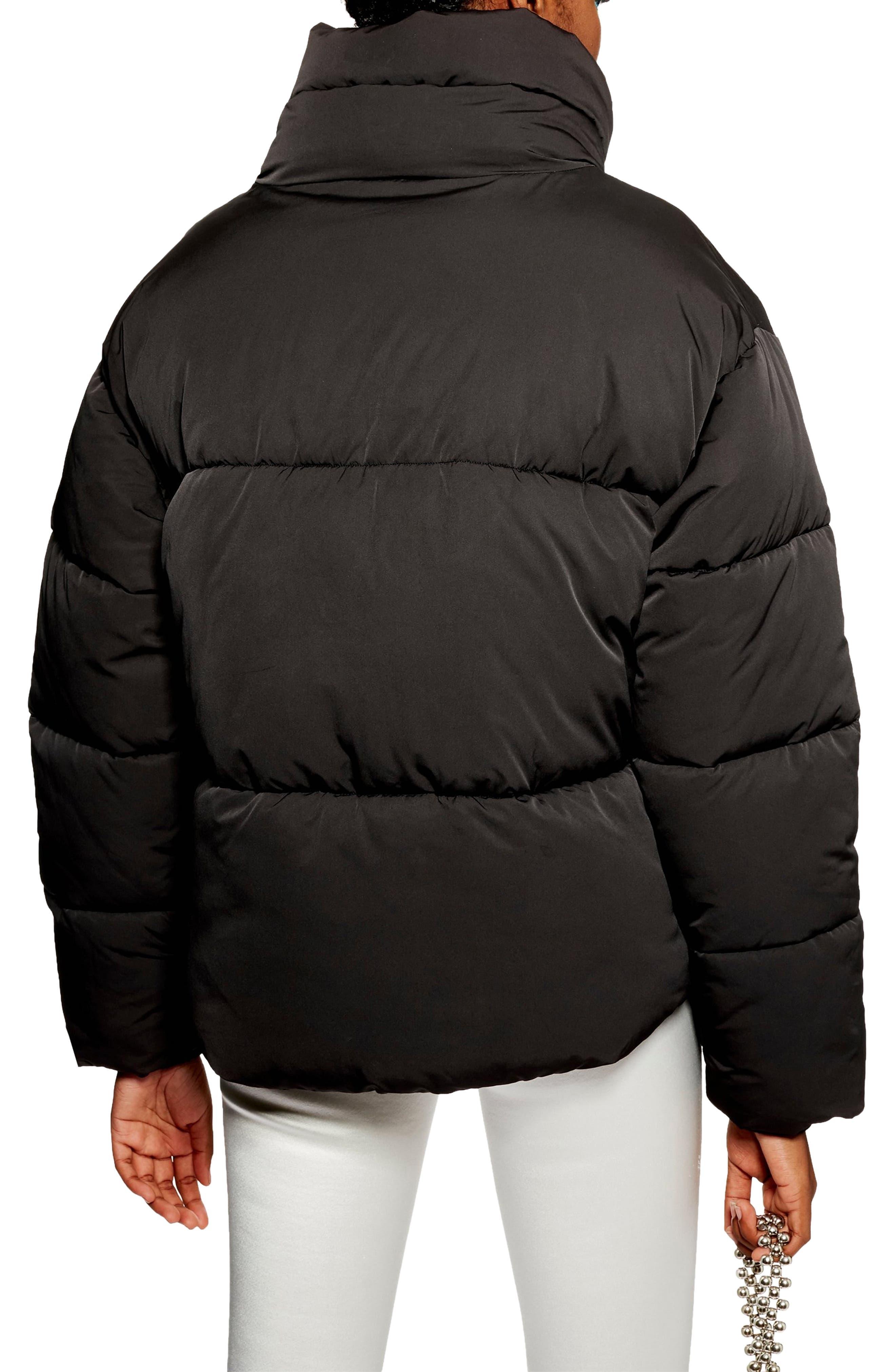 Meghan Puffer Jacket,                             Alternate thumbnail 2, color,                             BLACK