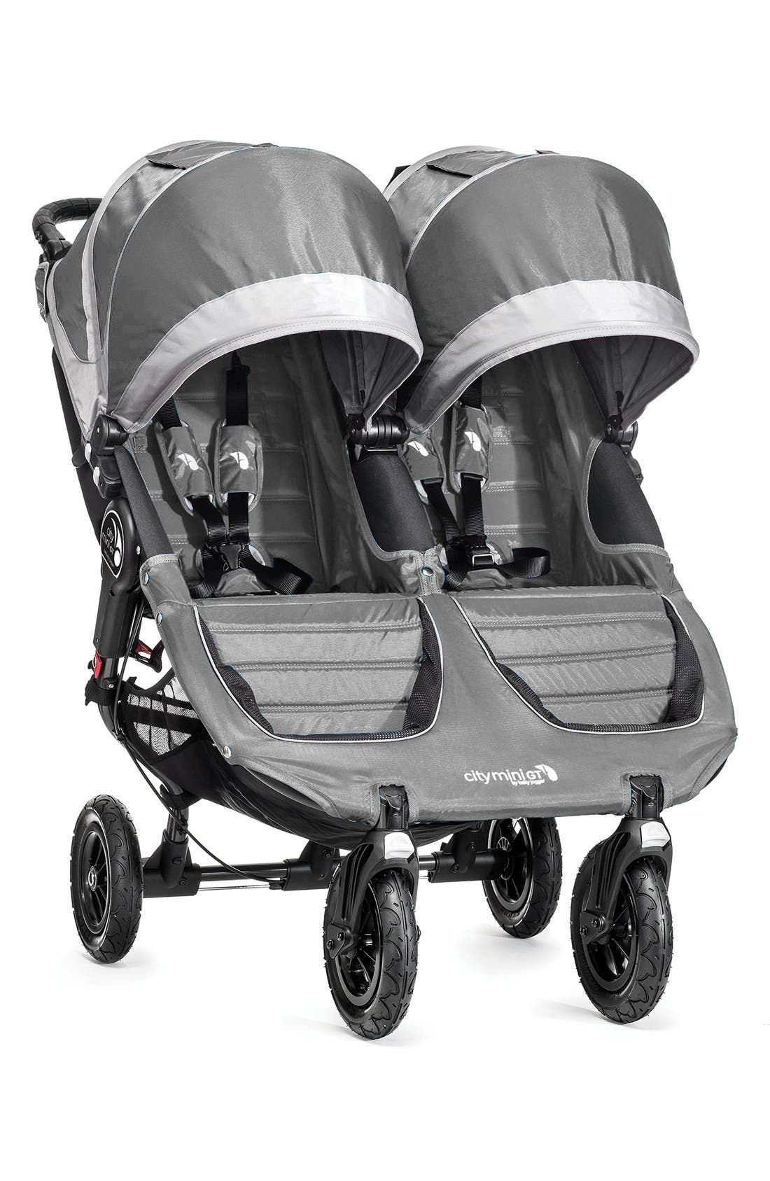 City Mini<sup>®</sup> GT Double Stroller,                         Main,                         color, STEEL GRAY
