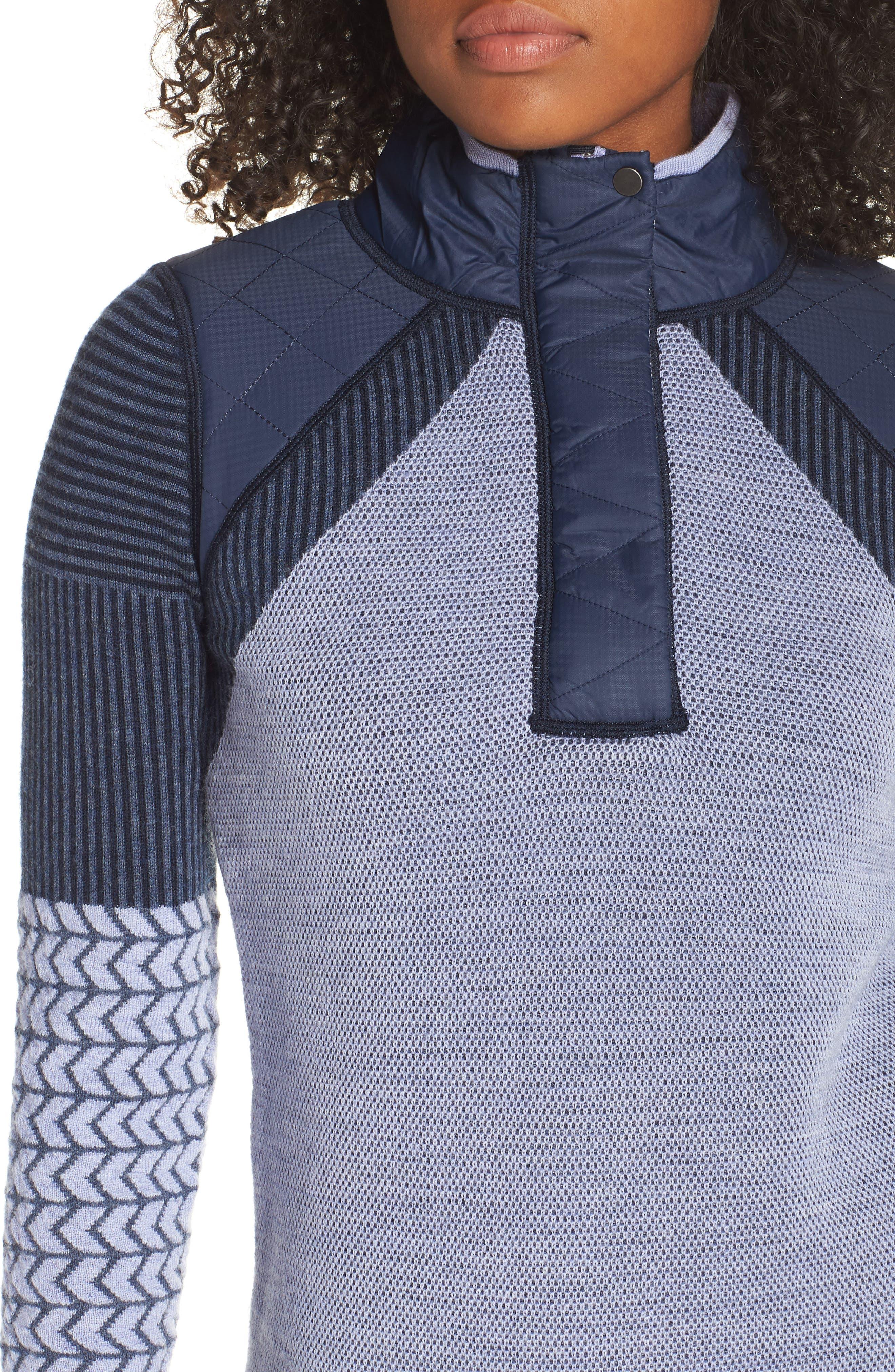 Ski Ninja Pullover Sweater,                             Alternate thumbnail 4, color,                             410