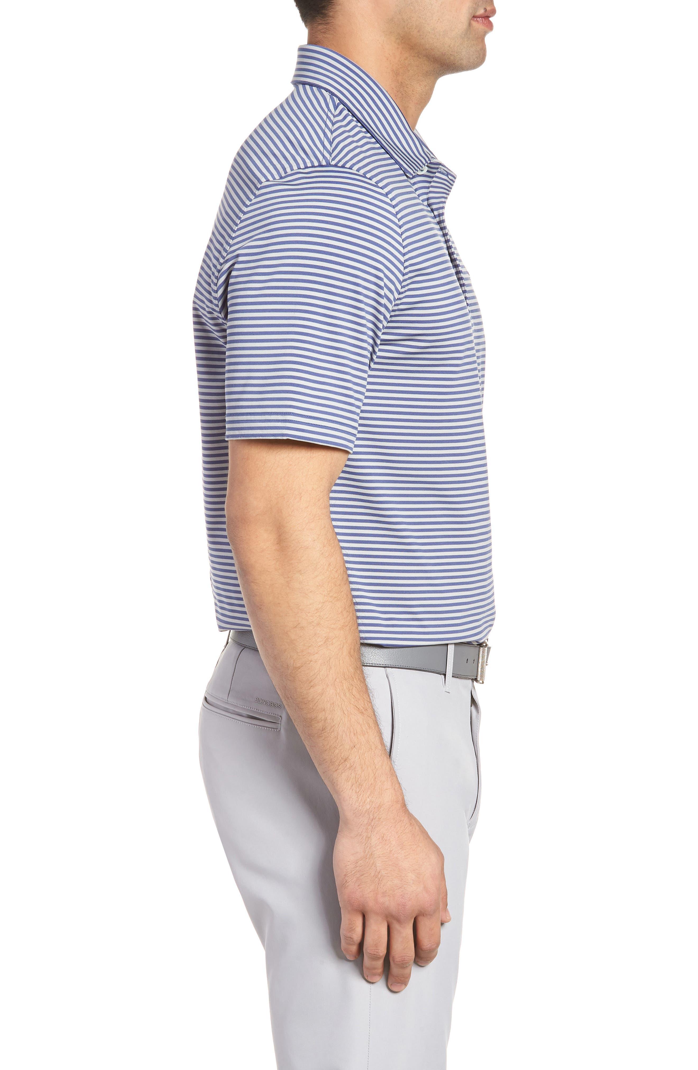 Kennedy Stripe Golf Polo,                             Alternate thumbnail 40, color,