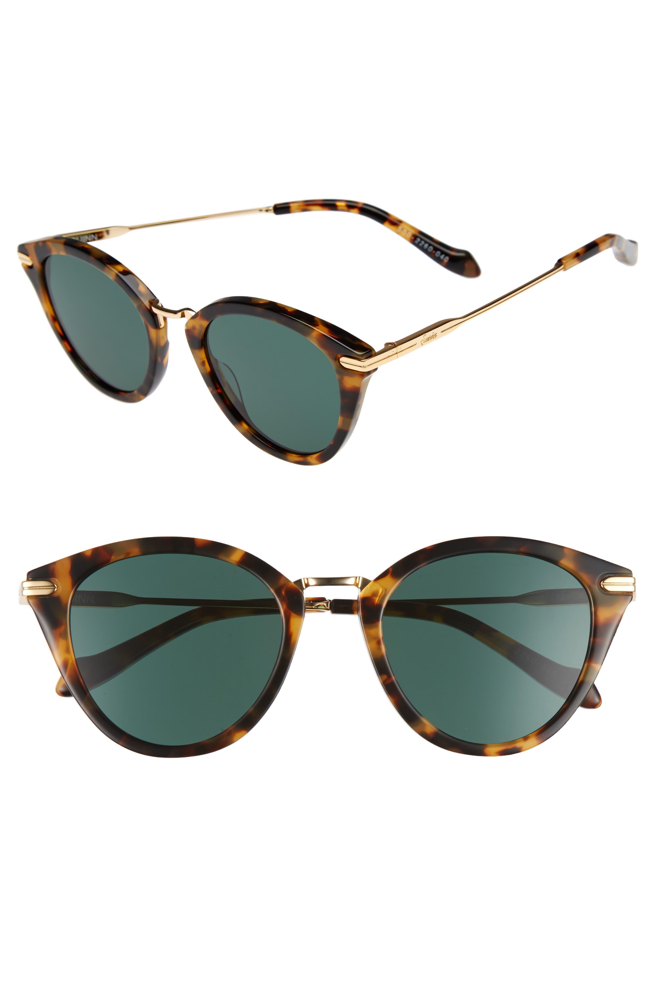 Quinn 48mm Cat Eye Sunglasses,                             Main thumbnail 3, color,