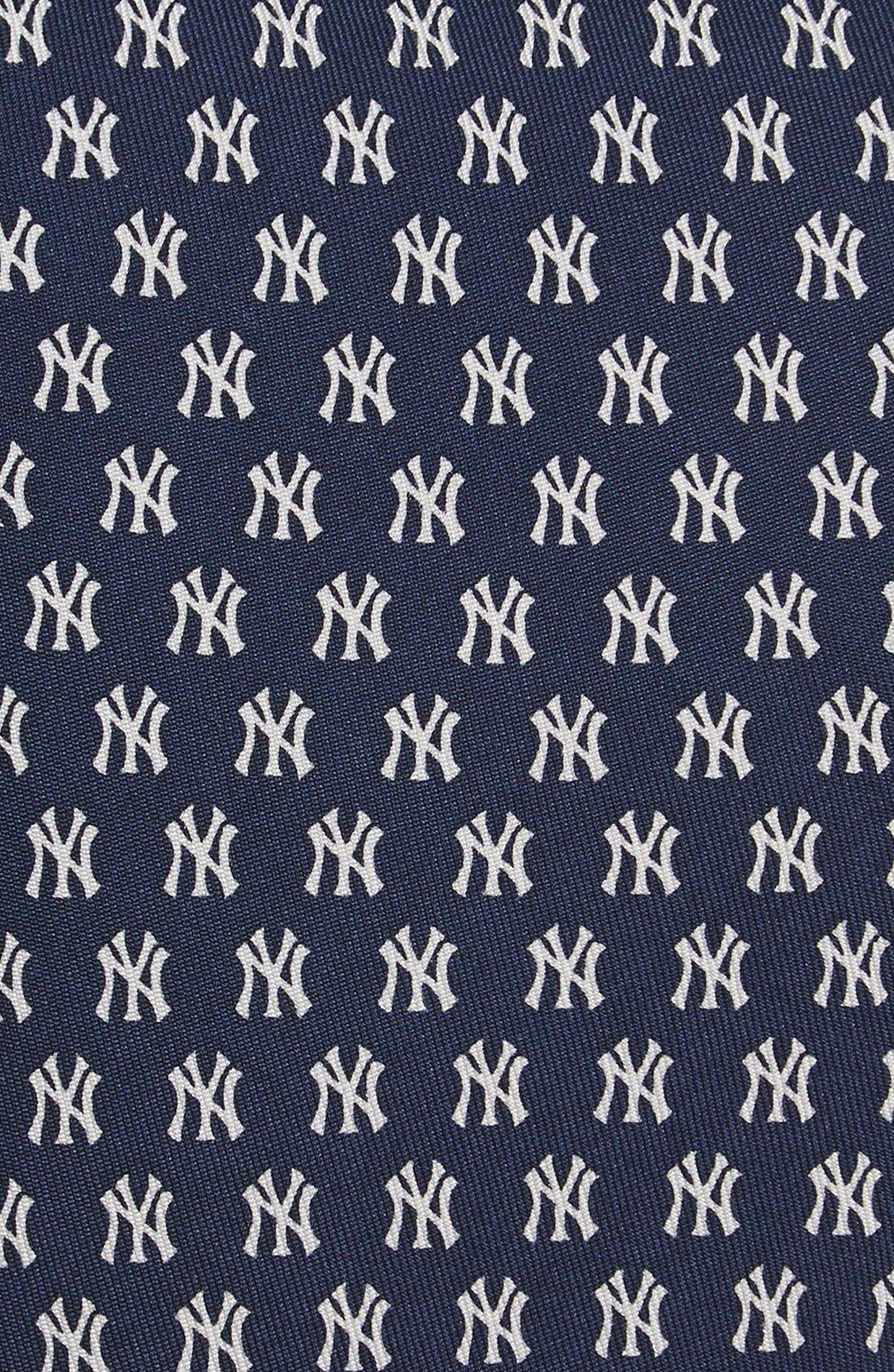'New York Yankees' Silk Tie,                             Alternate thumbnail 2, color,                             414