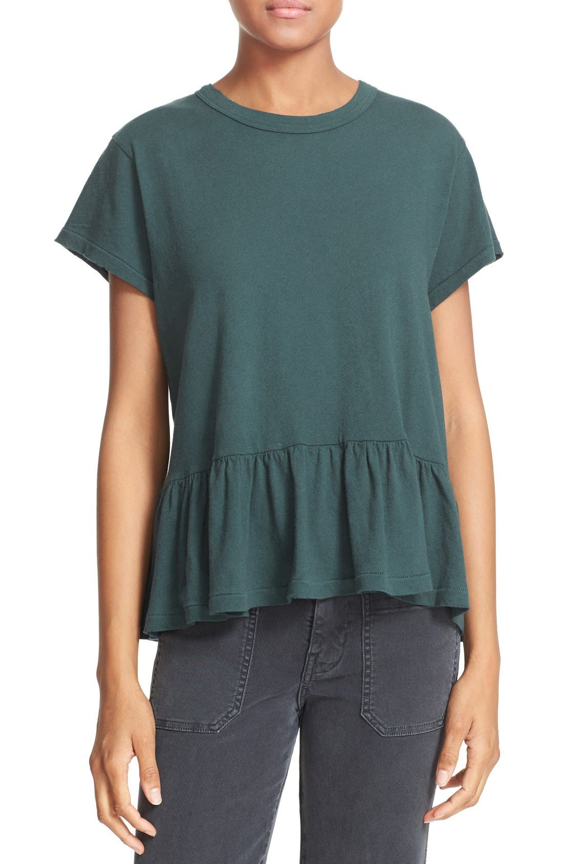 The Ruffle Tee,                             Main thumbnail 12, color,