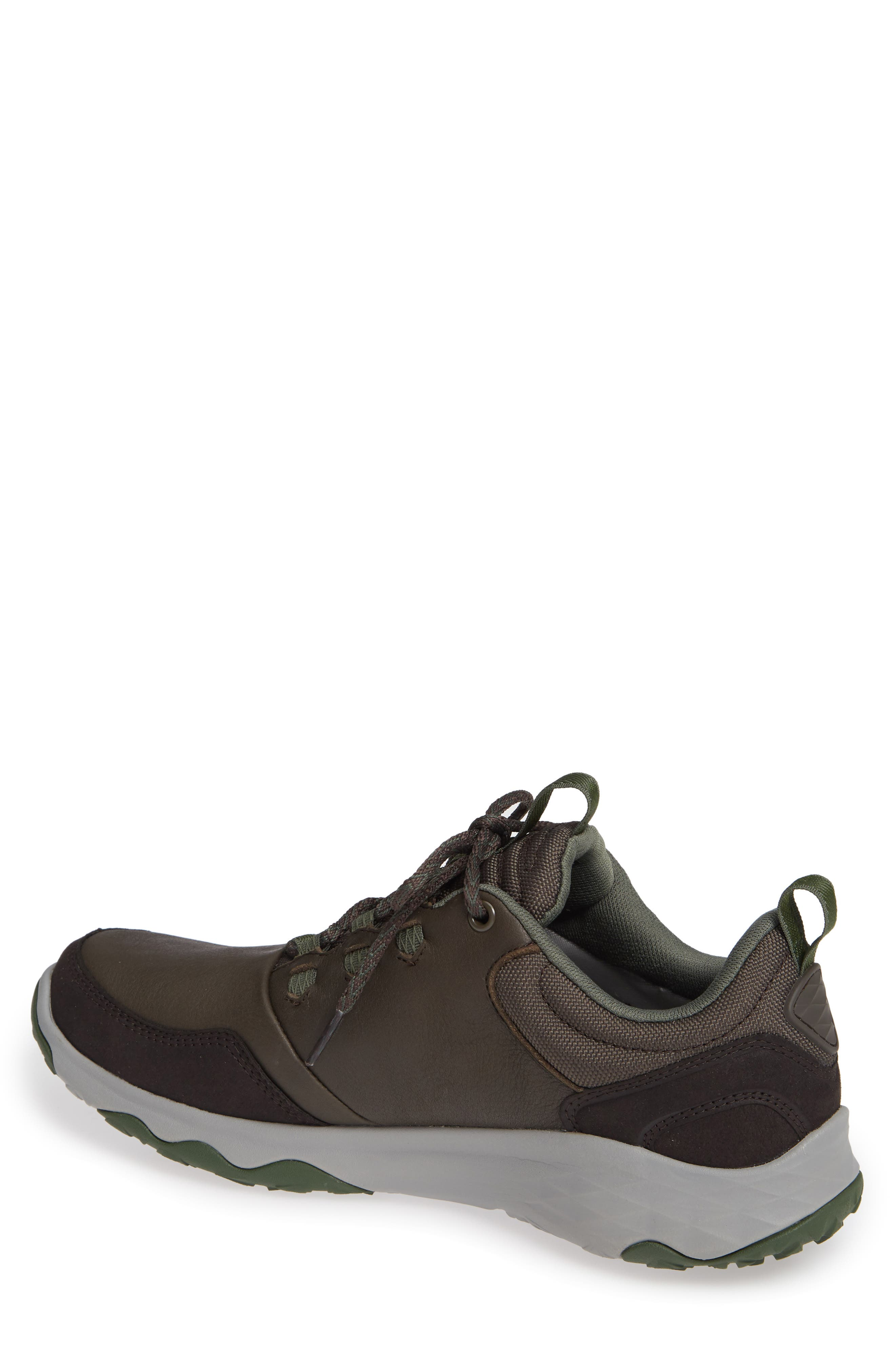 Arrowood Waterproof Sneaker,                             Alternate thumbnail 2, color,                             BLACK OLIVE LEATHER