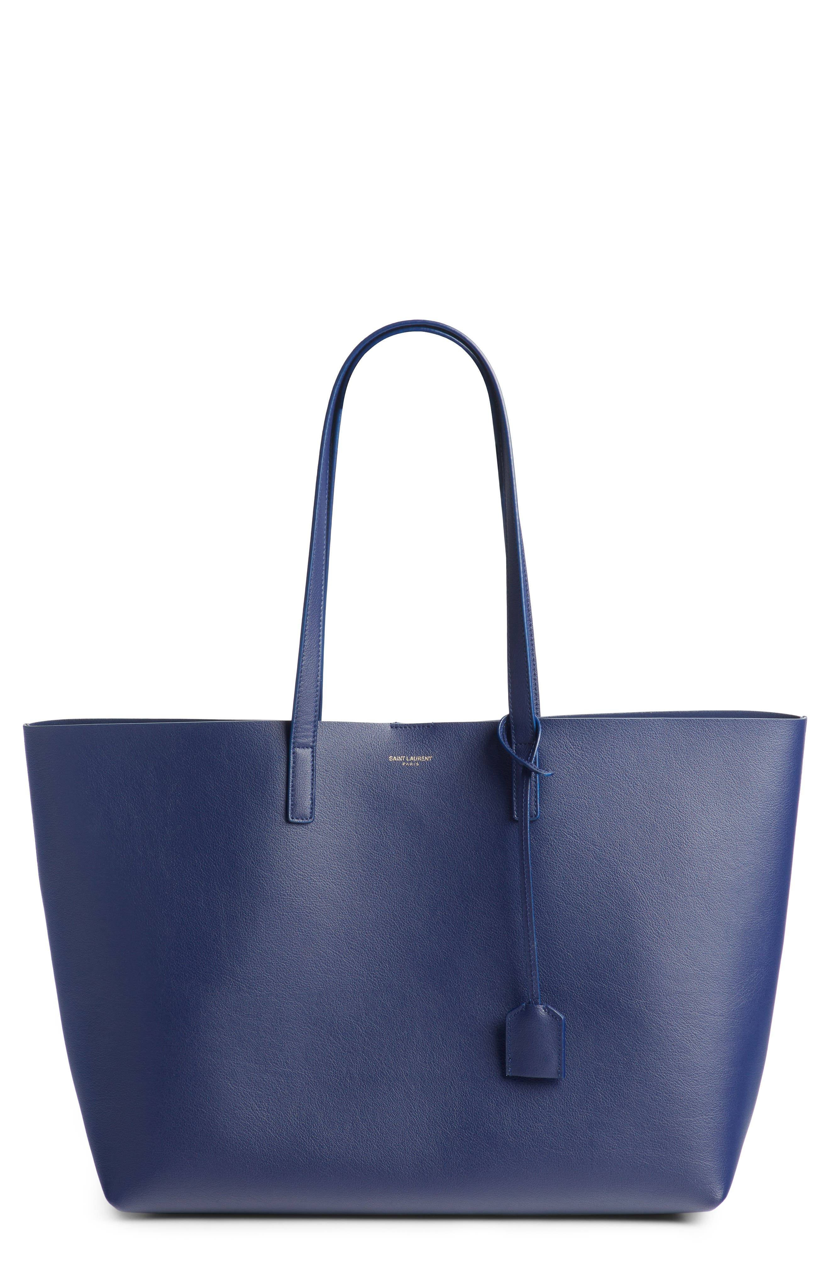 East West Shopping Tote Bag in Saphir