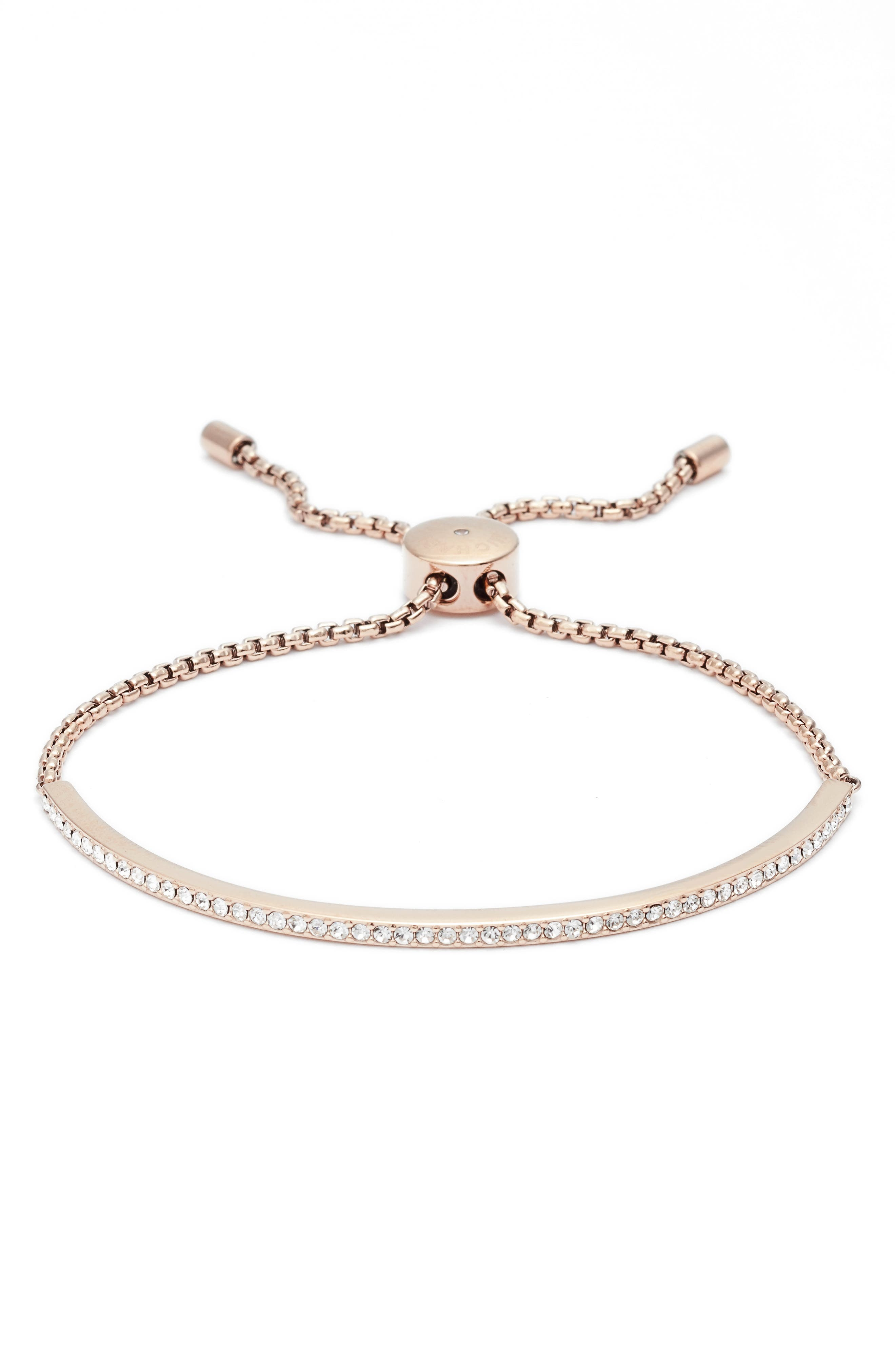 Crystal Skinny Bracelet,                         Main,                         color, 650