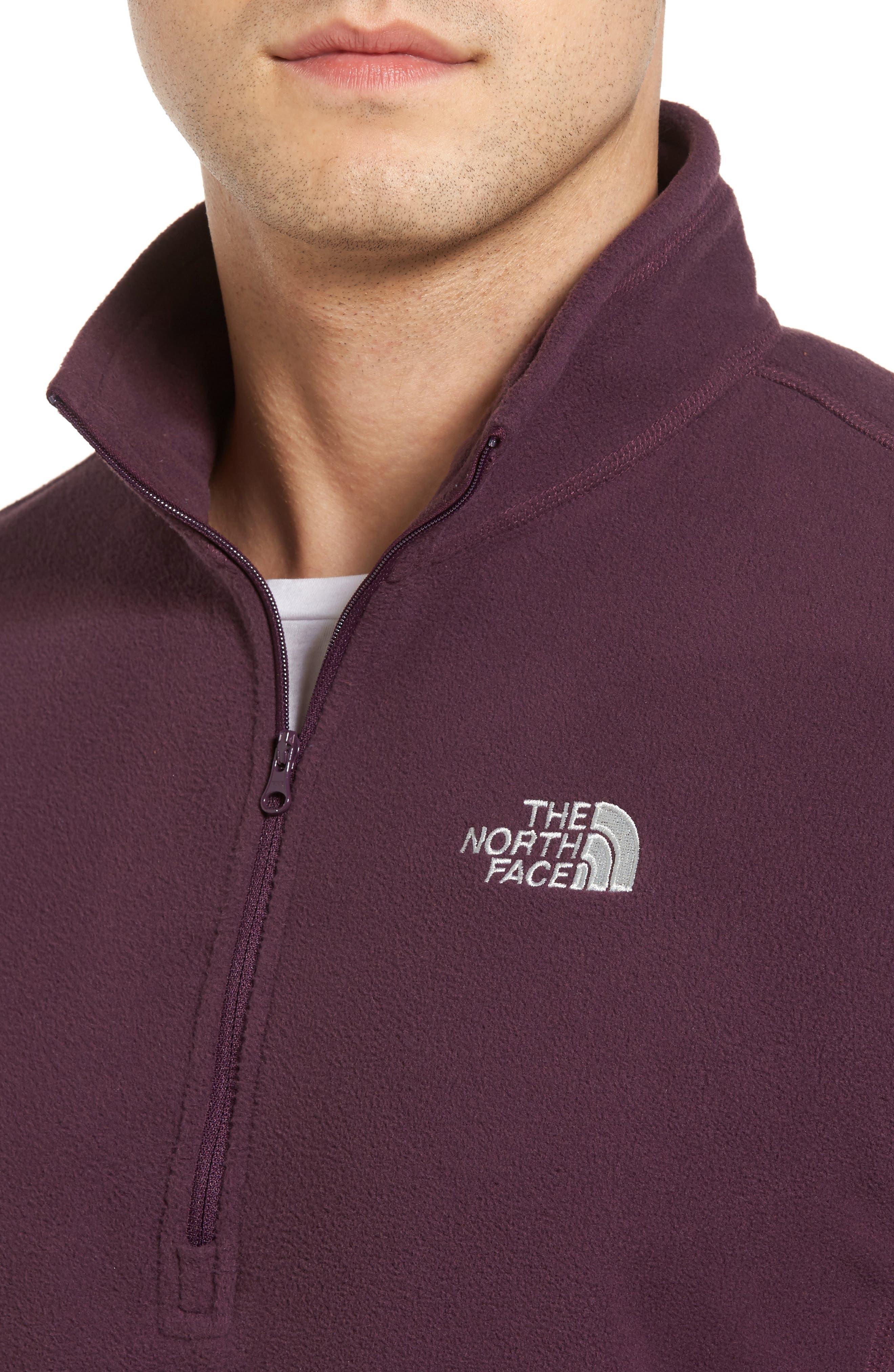 'TKA 100 Glacier' Quarter Zip Fleece Pullover,                             Alternate thumbnail 159, color,