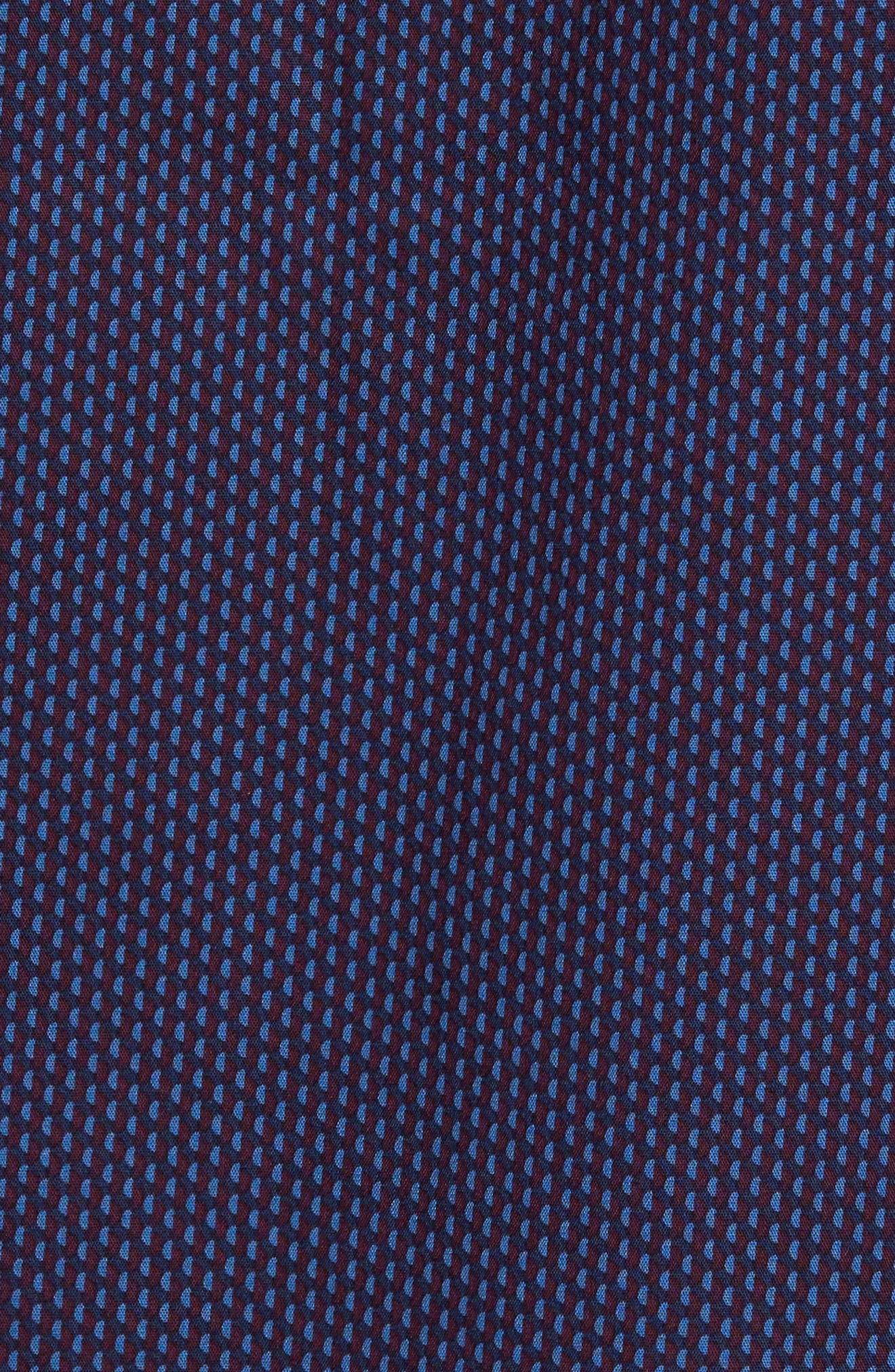Print Sport Shirt,                             Alternate thumbnail 5, color,                             401