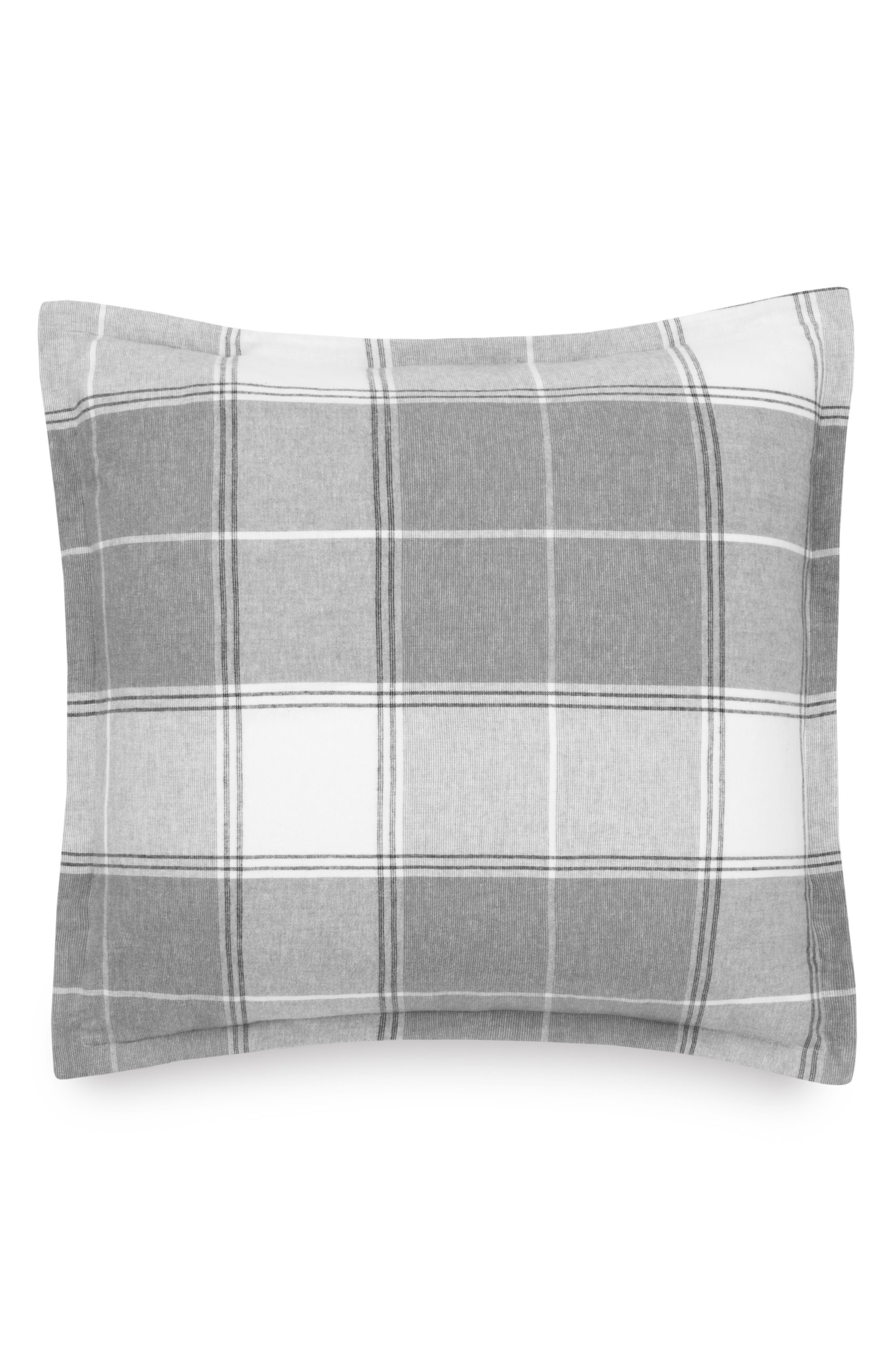 Flannel Luxe Euro Sham,                         Main,                         color,