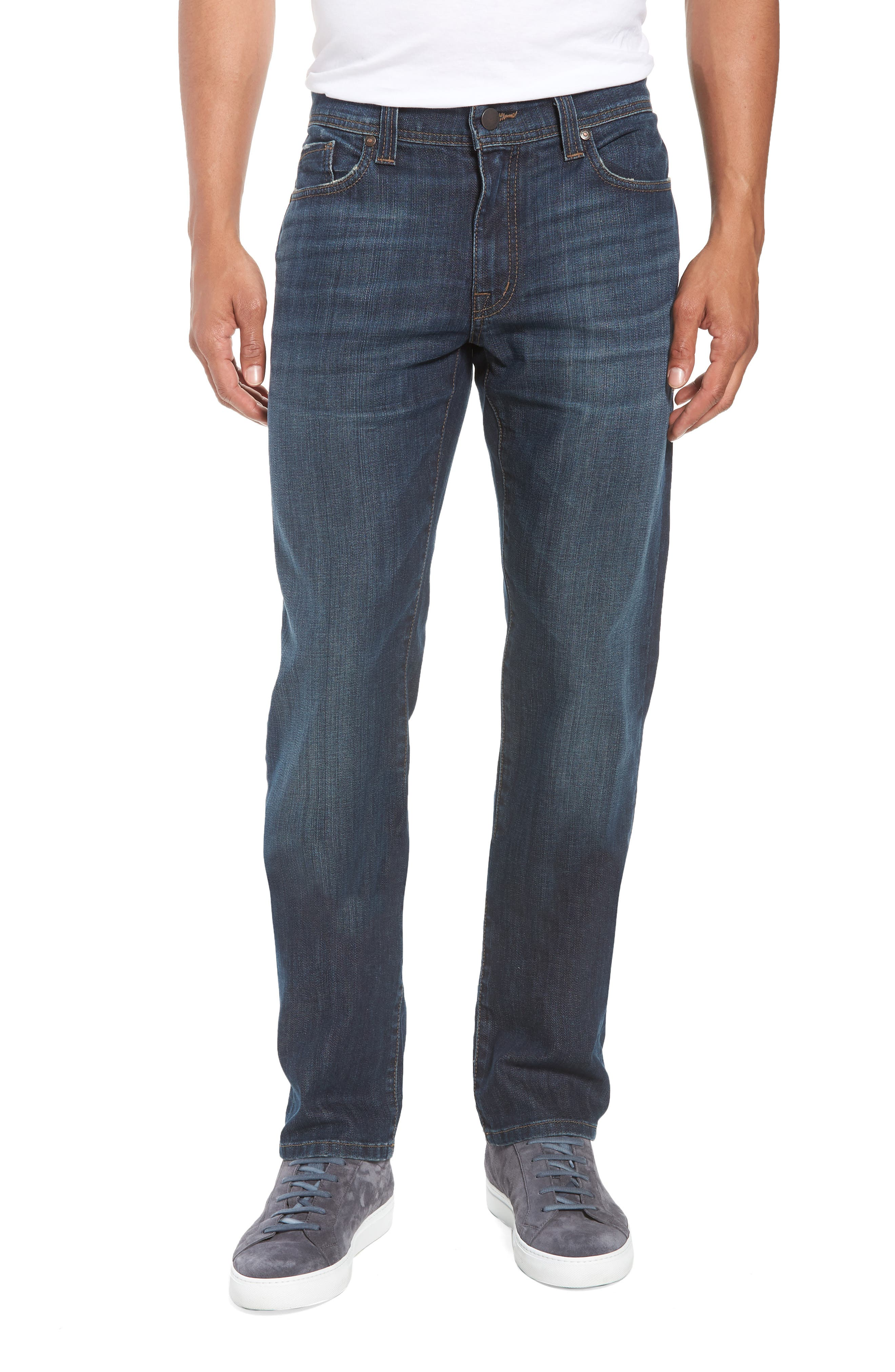 Jimmy Slim Straight Leg Jeans,                             Main thumbnail 1, color,