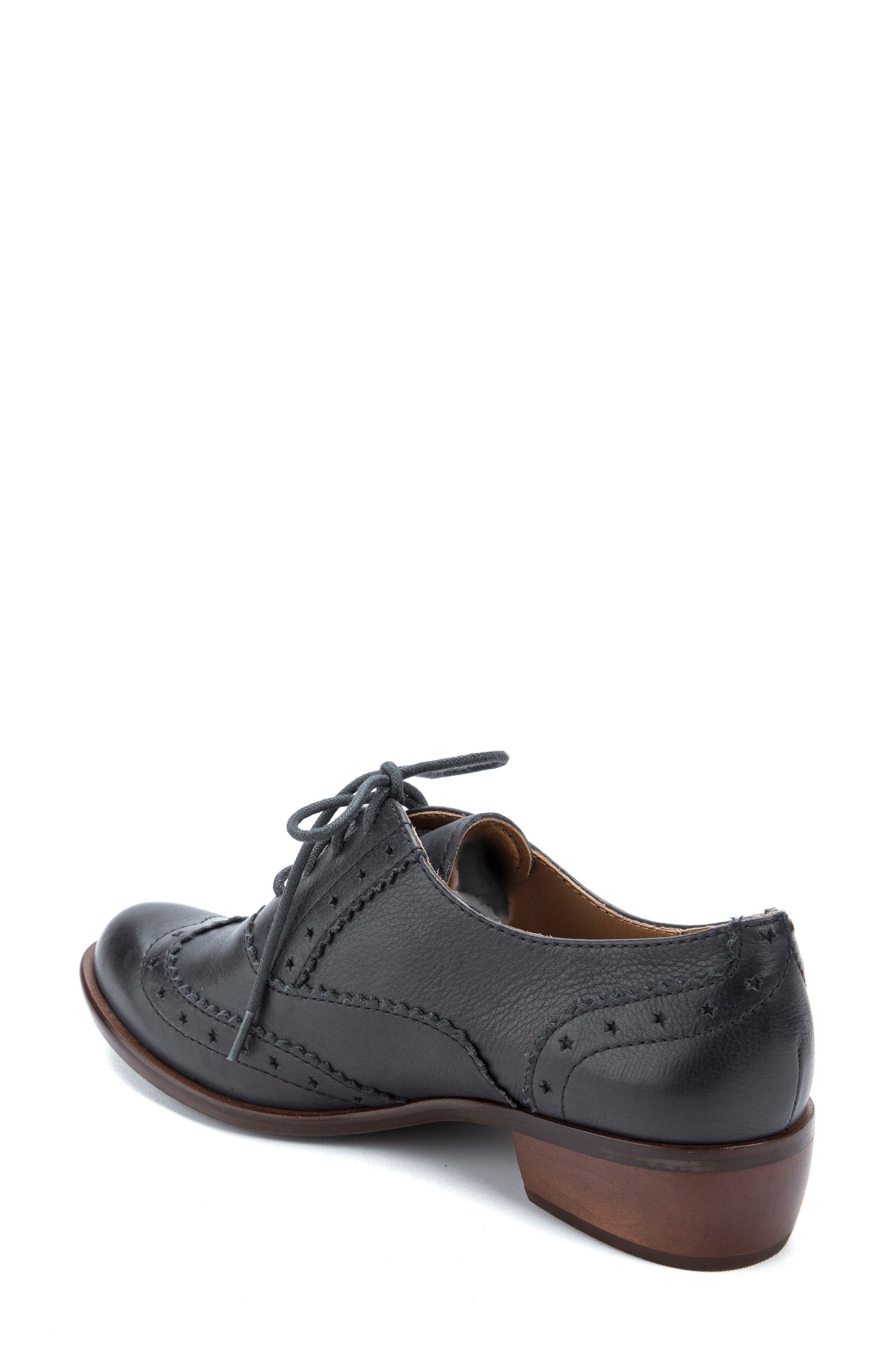 Heart Lace-Up Loafer,                             Alternate thumbnail 2, color,                             001