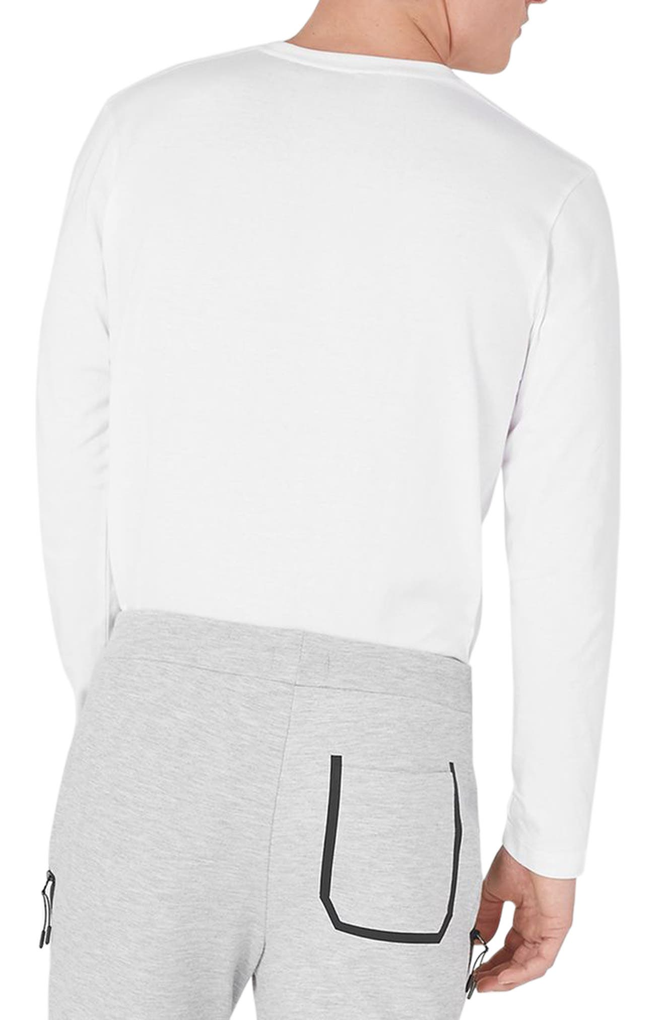 NICCE Graphic Long Sleeve T-Shirt,                             Alternate thumbnail 2, color,                             100