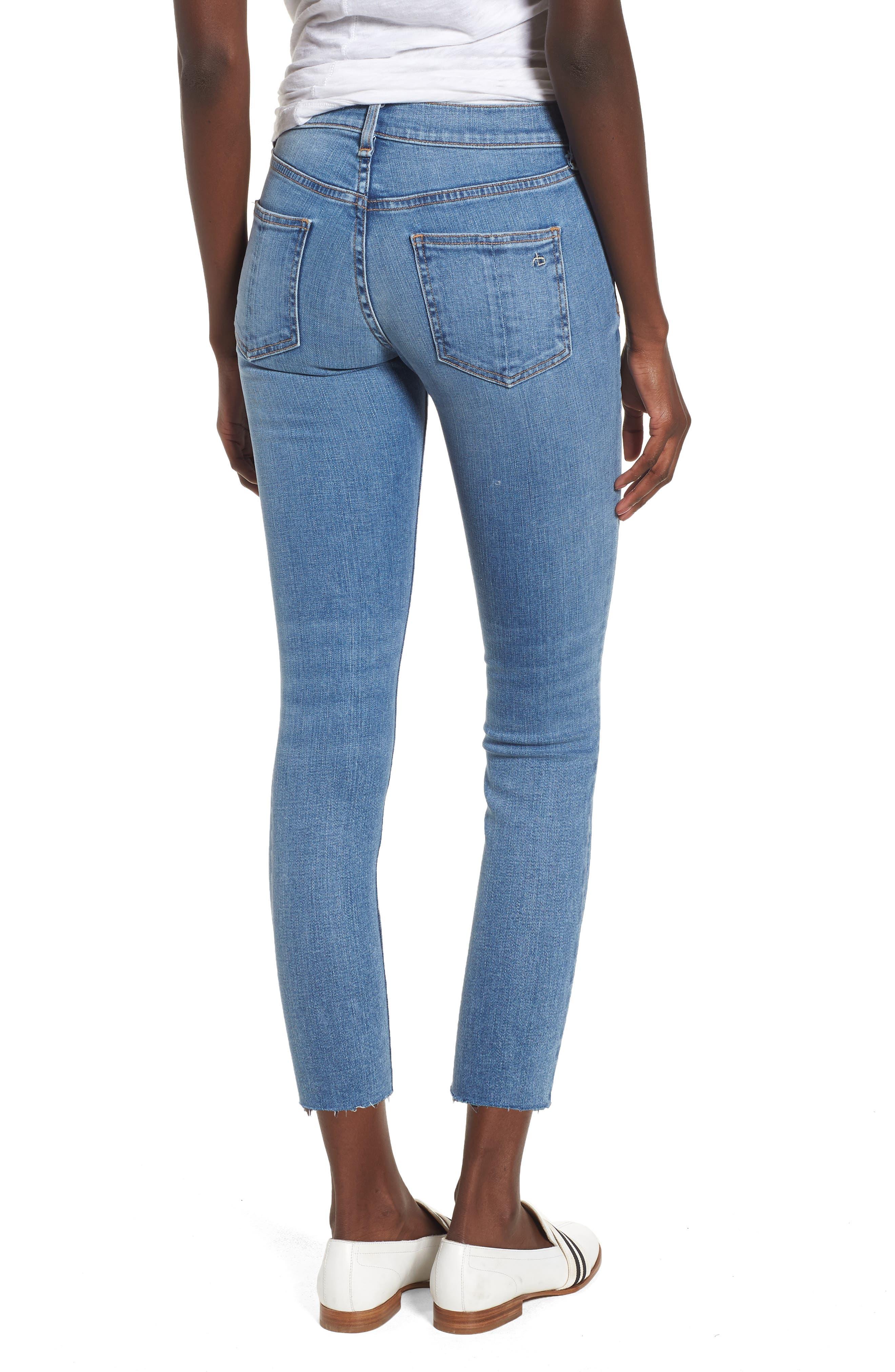 Crop Skinny Jeans,                             Alternate thumbnail 2, color,                             424
