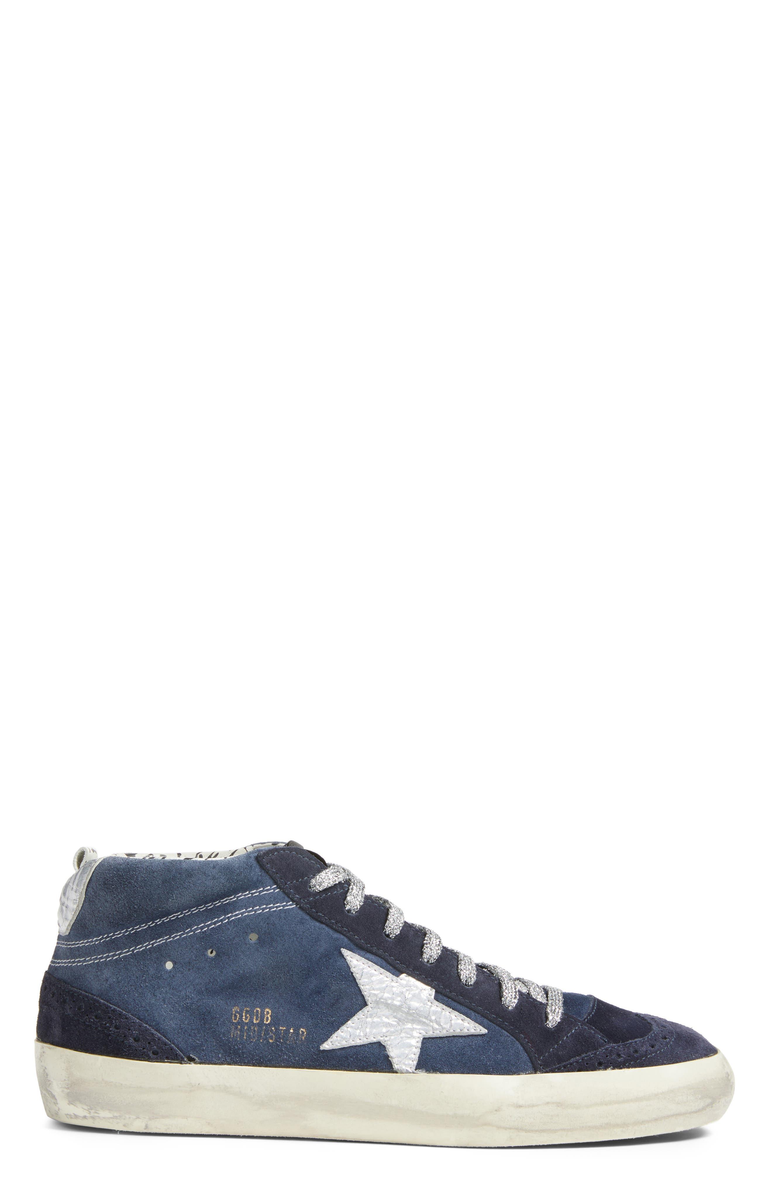 Star Mid Top Sneaker,                             Alternate thumbnail 3, color,                             401