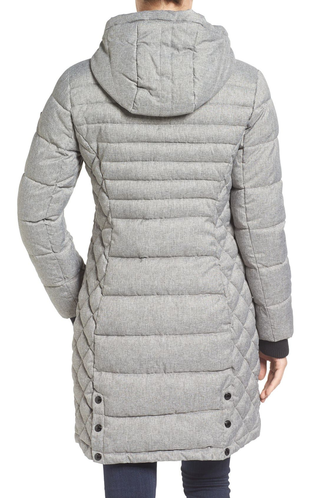 Quilted Hooded Puffer Coat,                             Alternate thumbnail 5, color,