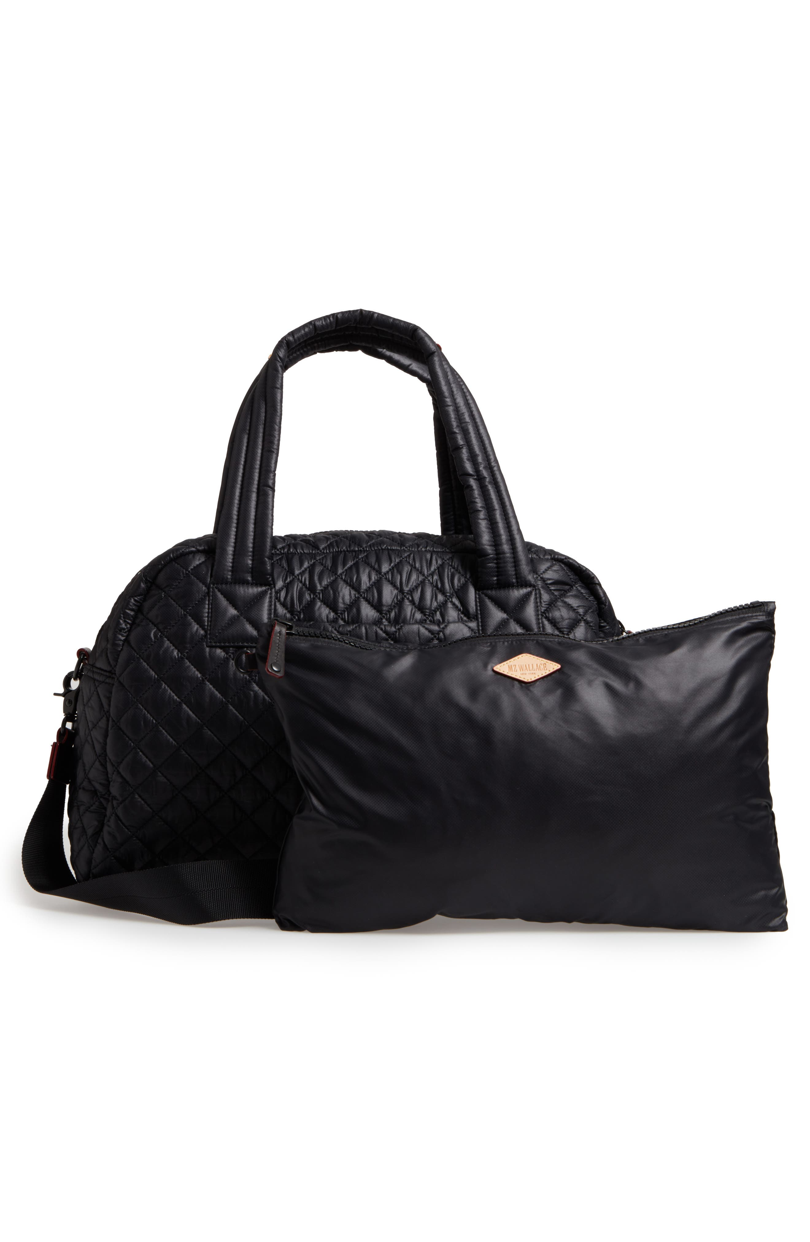 Jimmy Bag,                             Alternate thumbnail 3, color,                             BLACK OXFORD