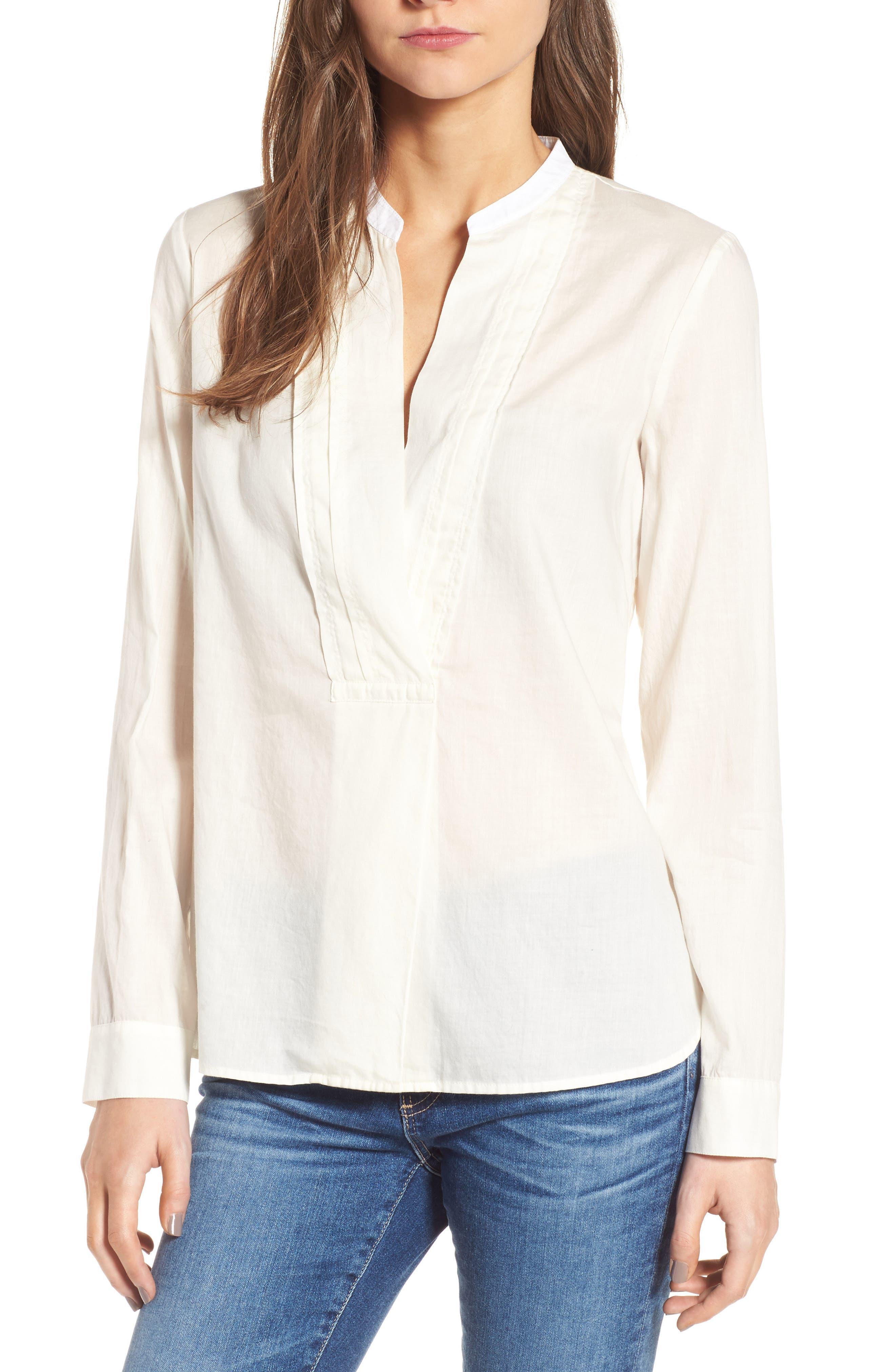 Placket Shirt,                         Main,                         color, 106