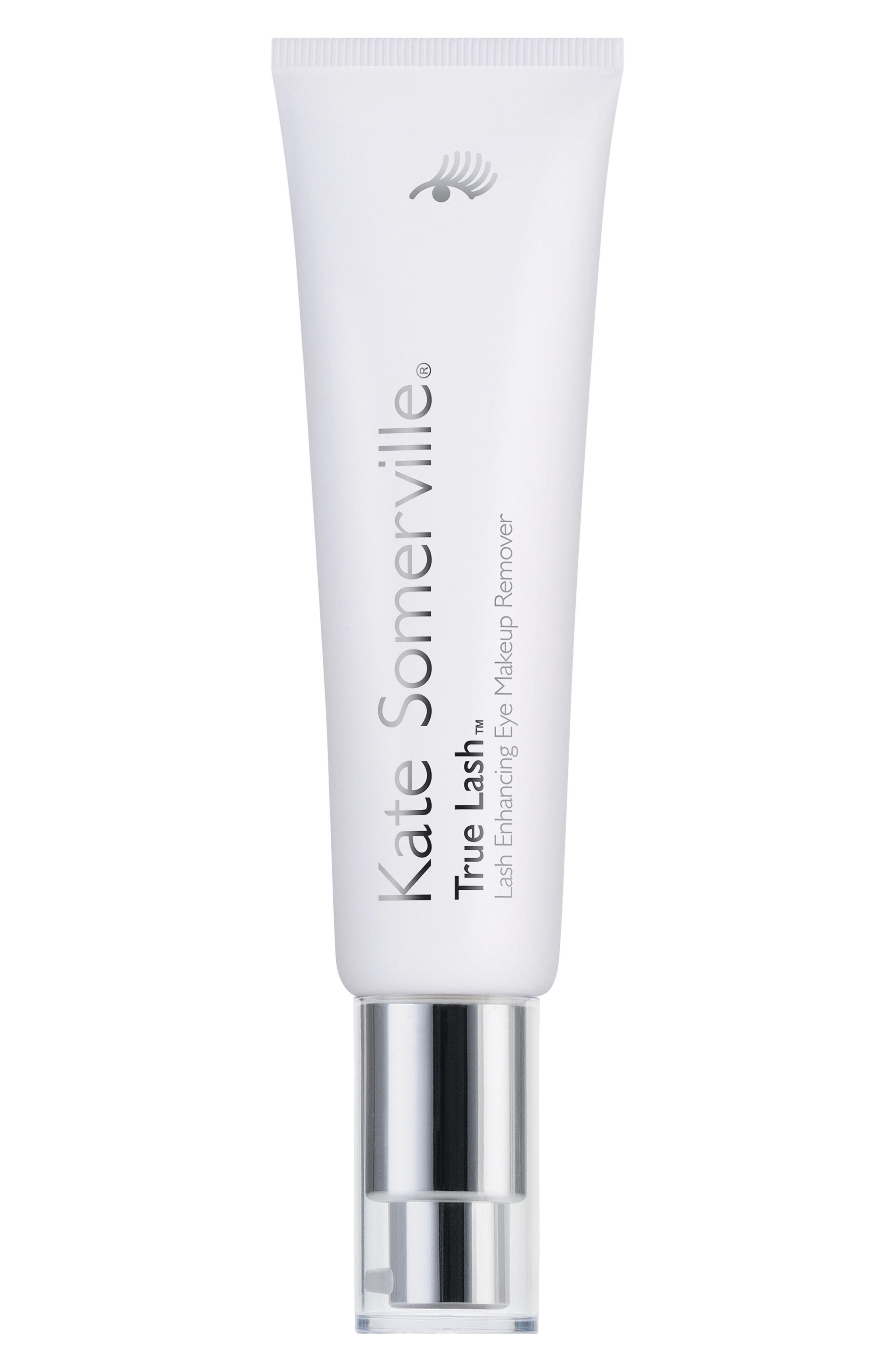 'True Lash<sup>™</sup>' Lash Enhancing Eye Makeup Remover,                             Main thumbnail 1, color,                             000