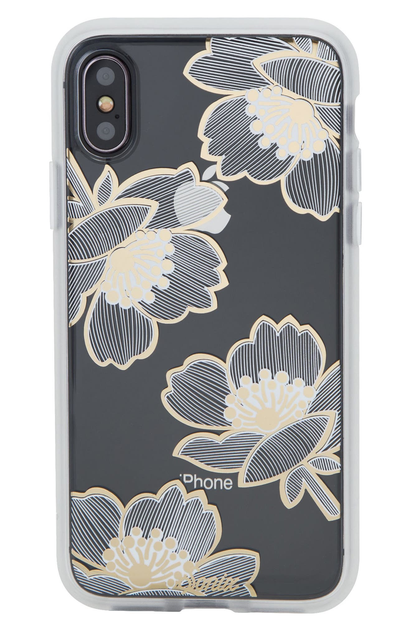 Bellflower iPhone X/Xs Case,                             Main thumbnail 1, color,                             710