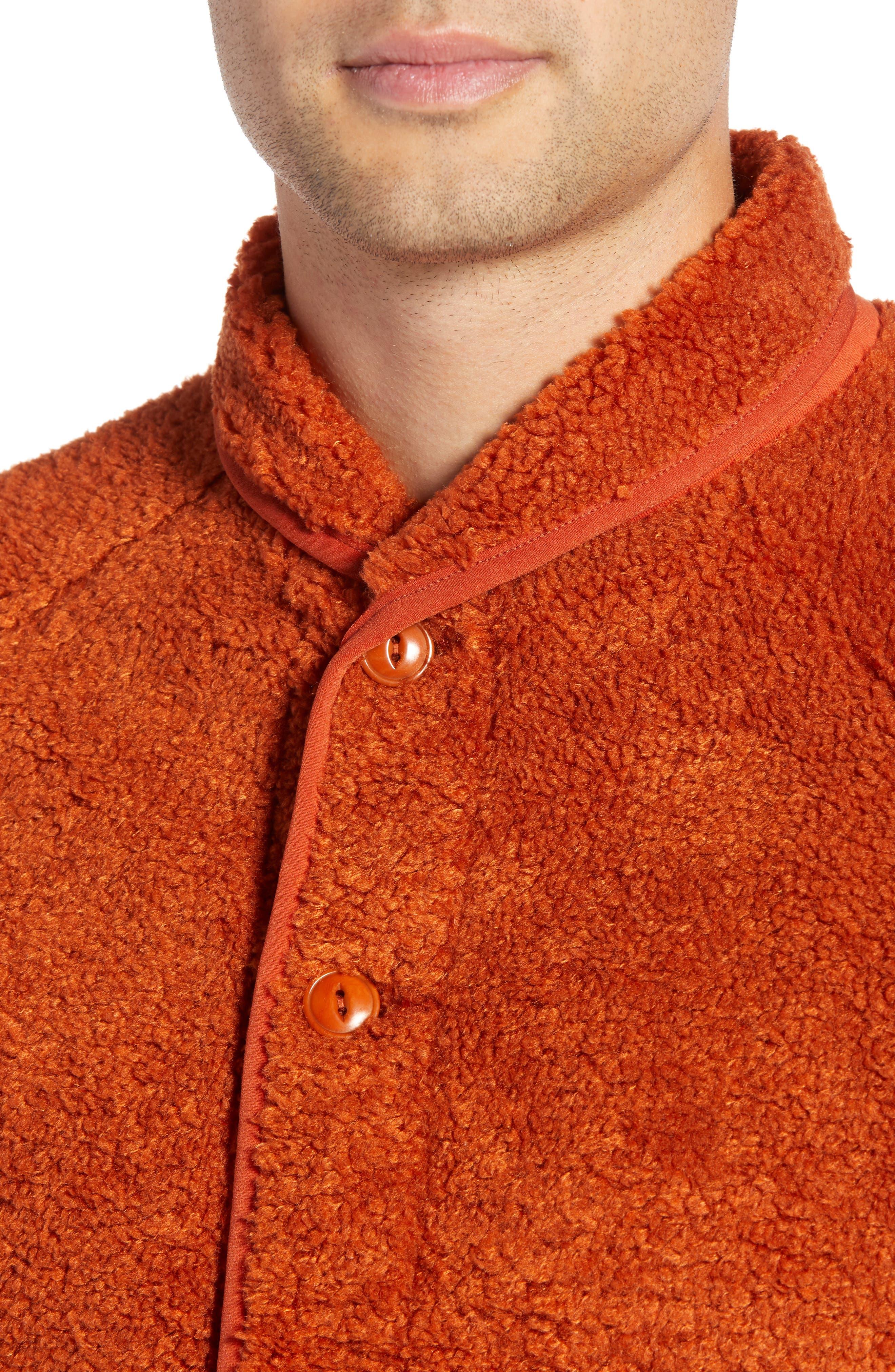 Beach Fleece Jacket,                             Alternate thumbnail 4, color,                             600