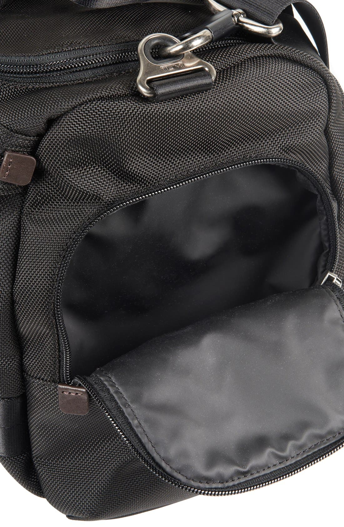 'Alpha Bravo - Maxwell' Duffel Bag,                             Alternate thumbnail 4, color,                             001