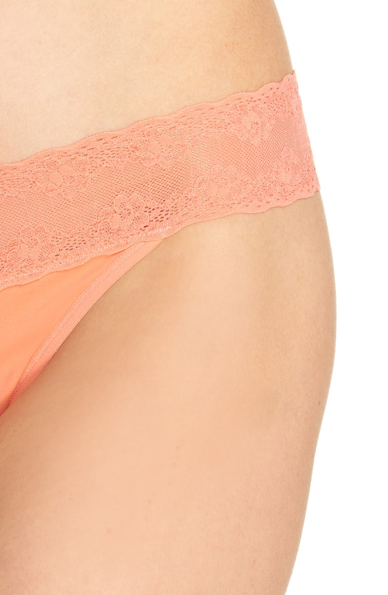 Bliss Perfection Thong,                             Alternate thumbnail 334, color,