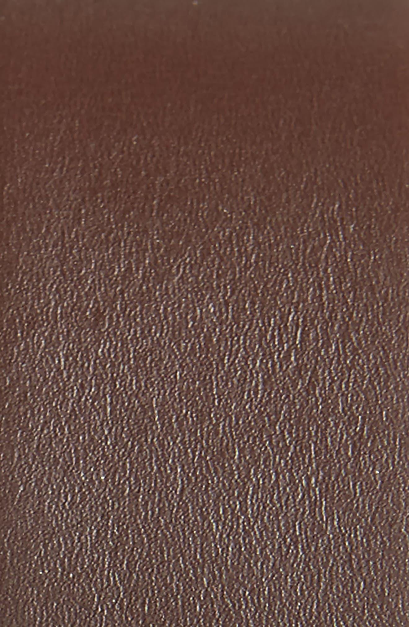 Matteo Reversible Leather Belt,                             Alternate thumbnail 3, color,                             BLACK/ BROWN