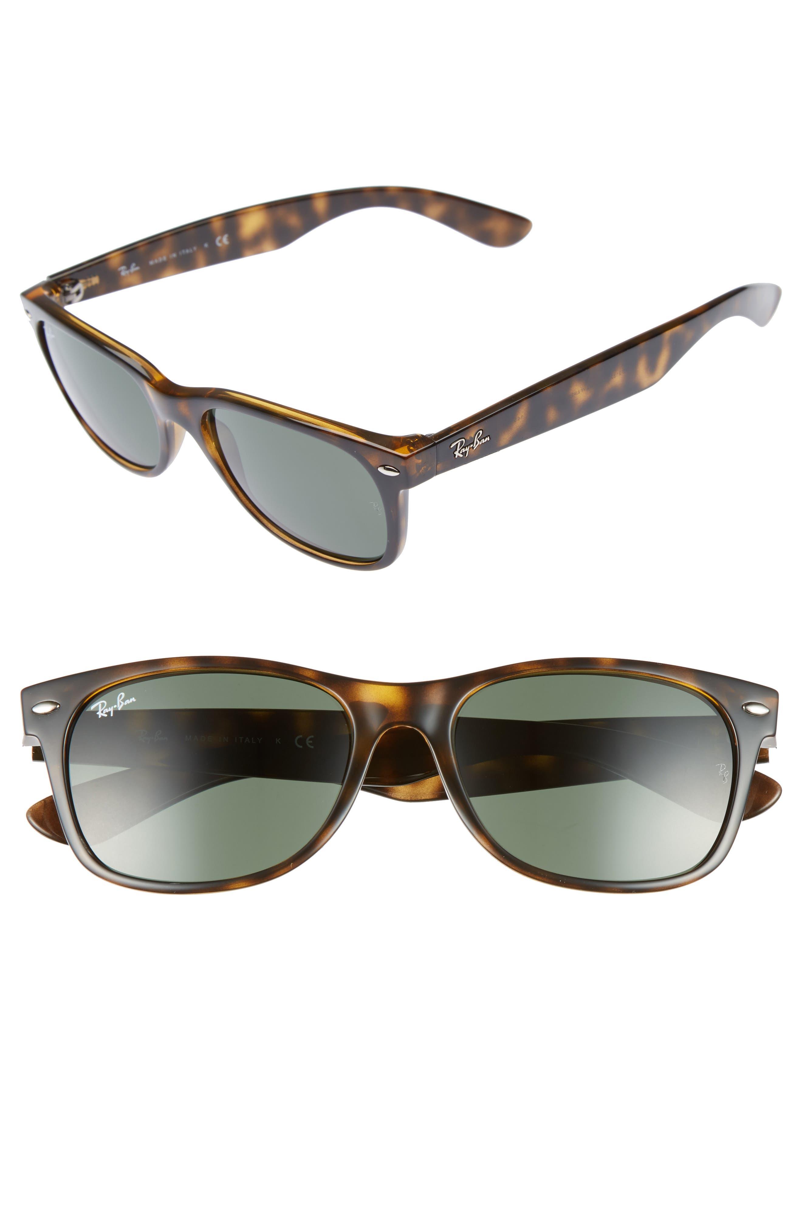 Ray-Ban Standard New Wayfarer 55Mm Sunglasses - Dark Tortoise