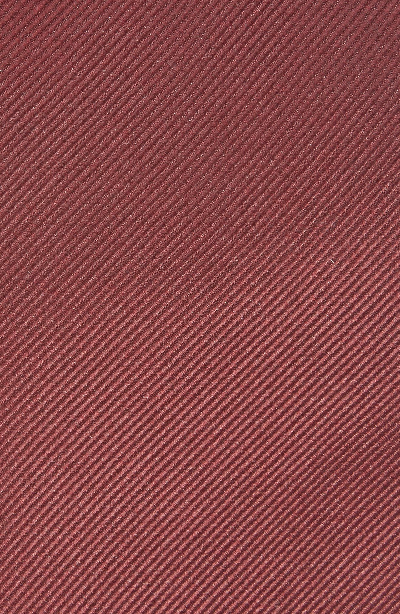 Tie,                             Alternate thumbnail 2, color,                             DARK RED