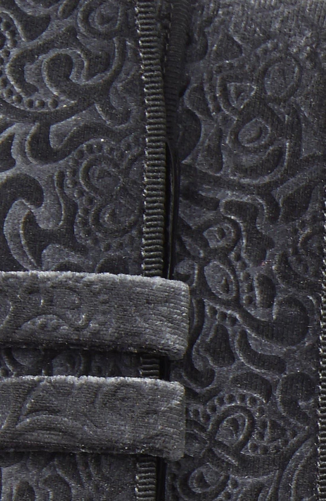 'Terciopelo' Velvet Belt,                             Alternate thumbnail 3, color,                             020