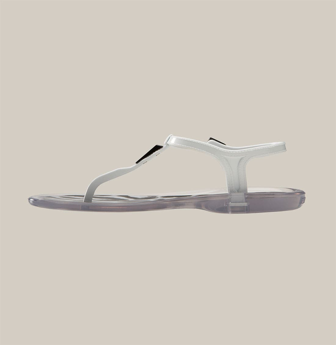'Maui' Jelly Thong Sandal,                             Alternate thumbnail 3, color,                             001