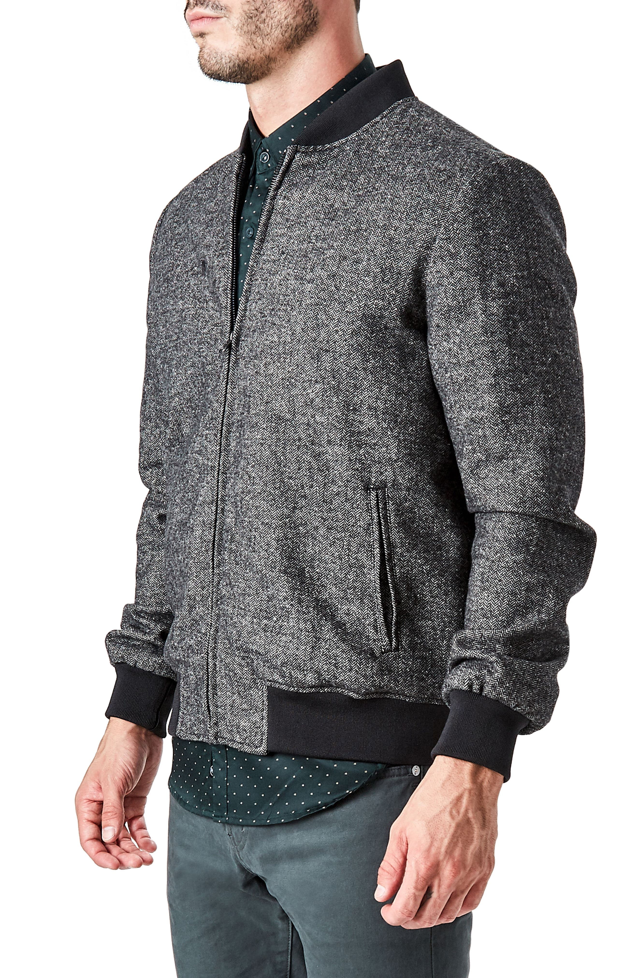 Aether Bomber Jacket,                             Alternate thumbnail 7, color,