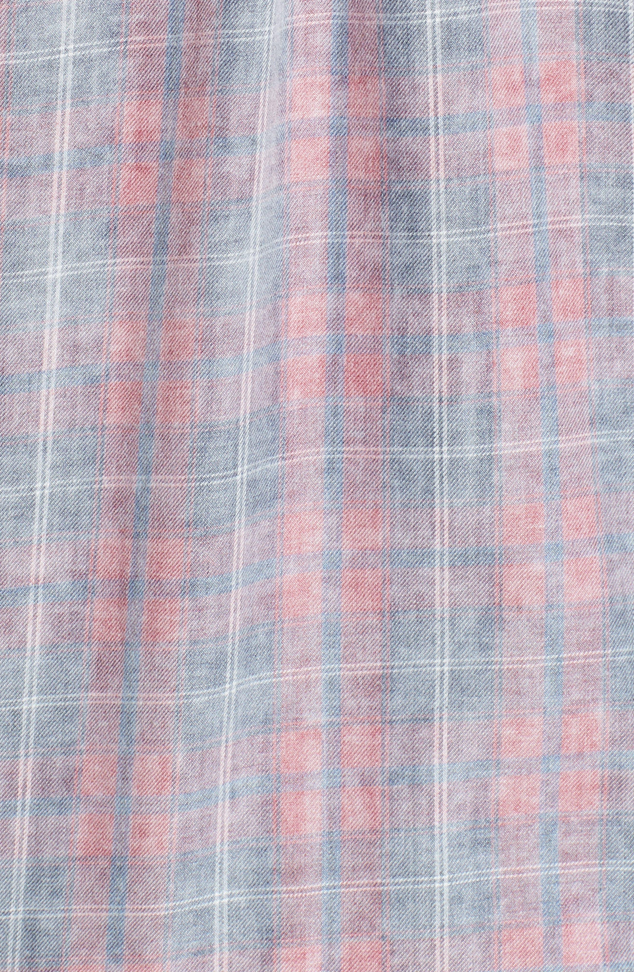 Hunter Plaid Shirt,                             Alternate thumbnail 563, color,