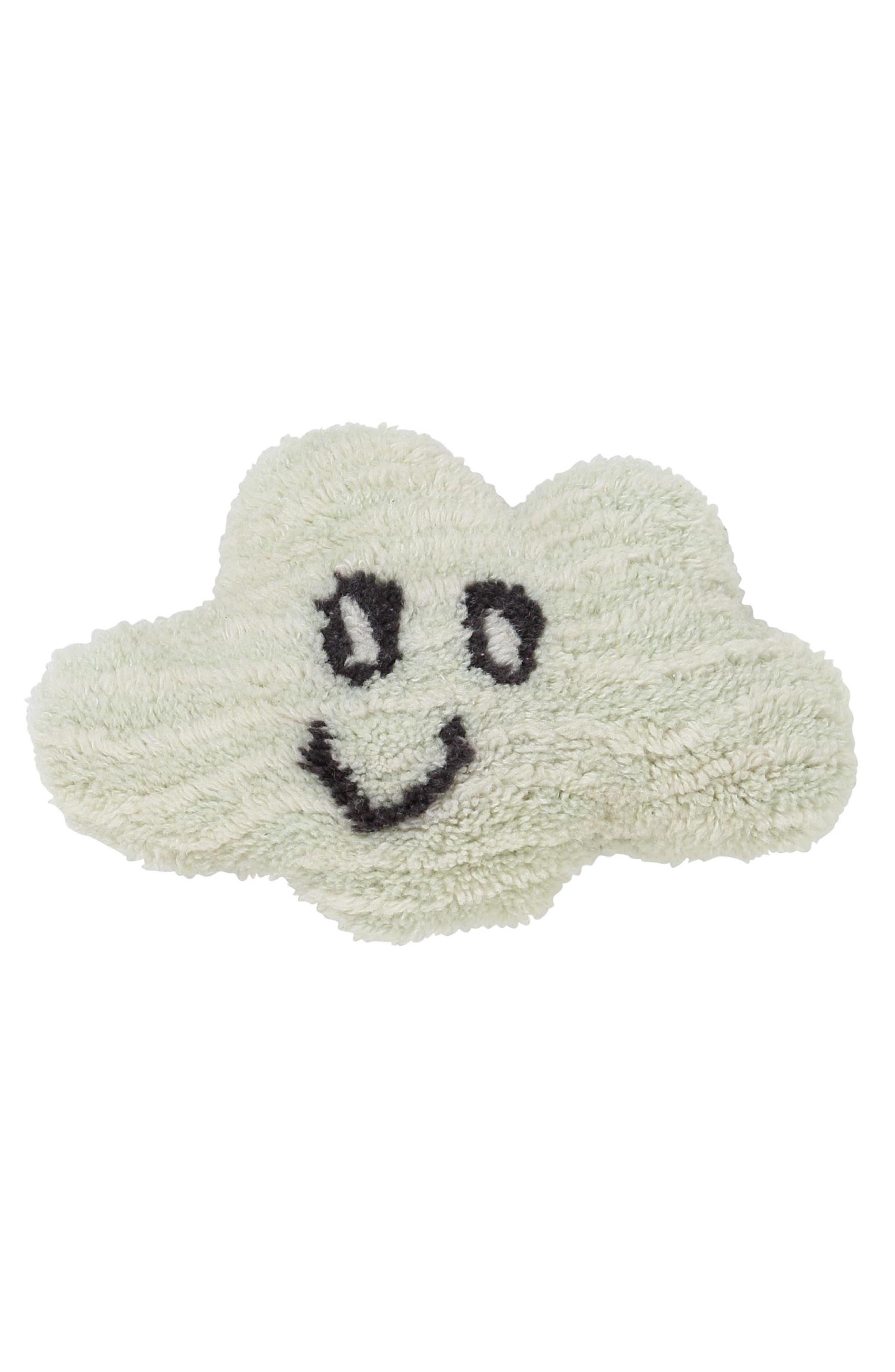Nimbus Cloud Cushion Wool Pillow,                             Main thumbnail 1, color,                             020