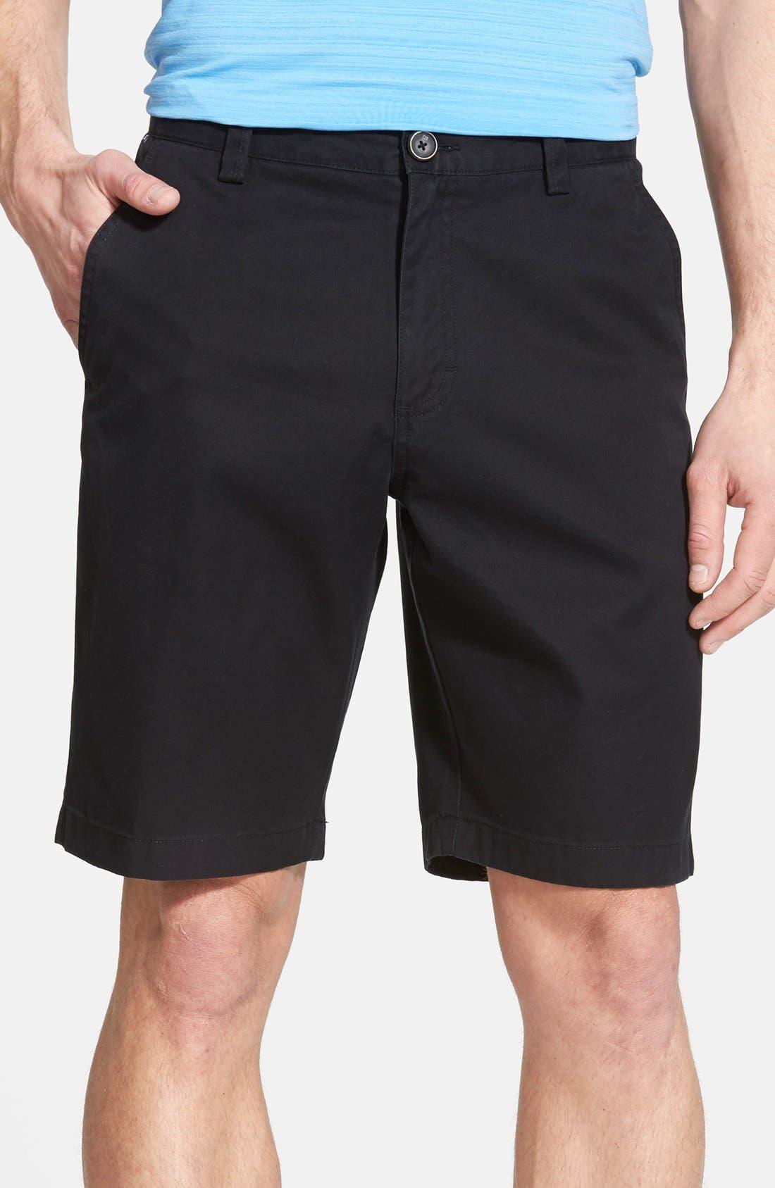 'Beckett' Shorts,                         Main,                         color, BLACK