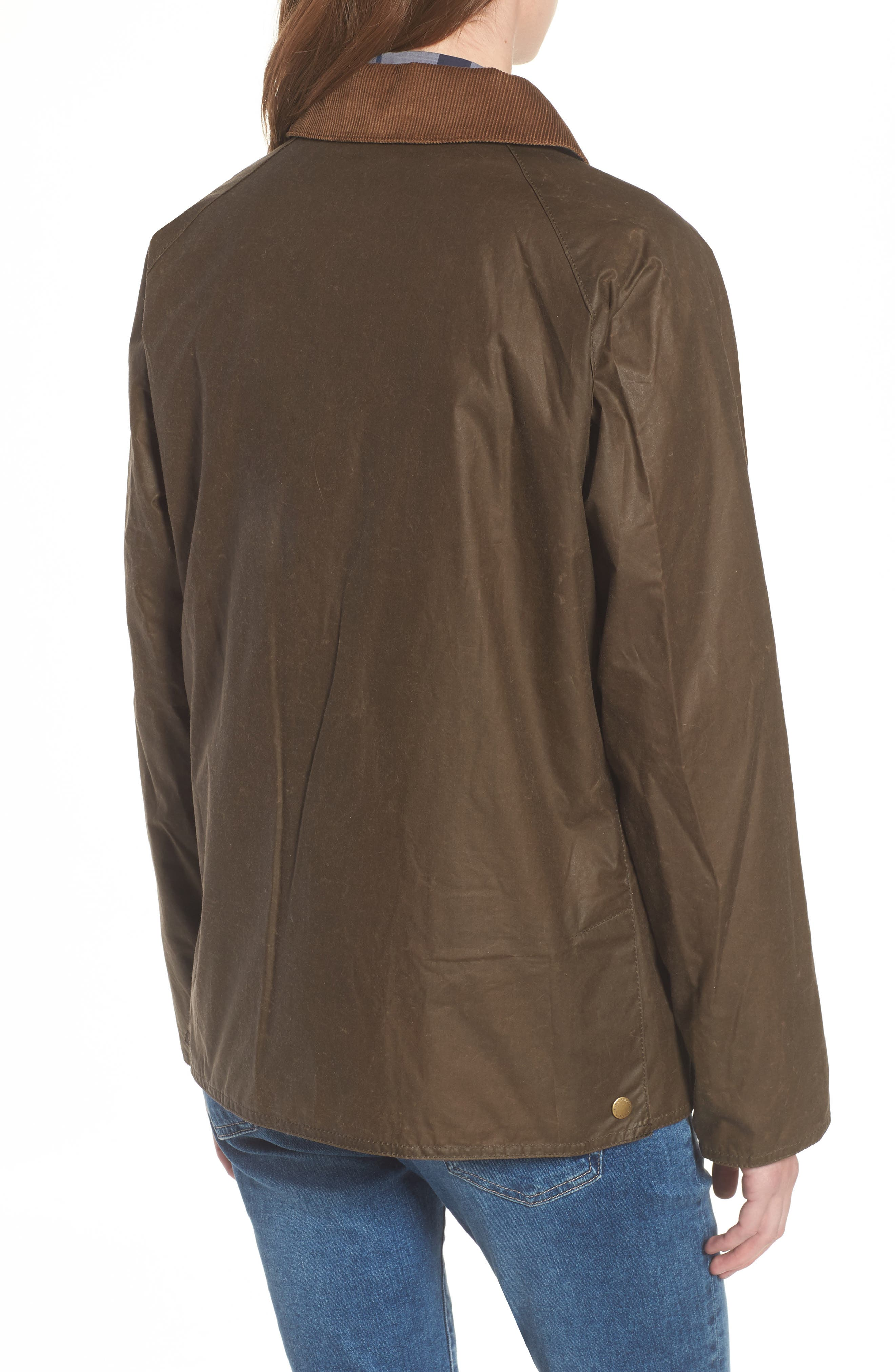 Acorn Water Resistant Waxed Cotton Jacket,                             Alternate thumbnail 2, color,                             230